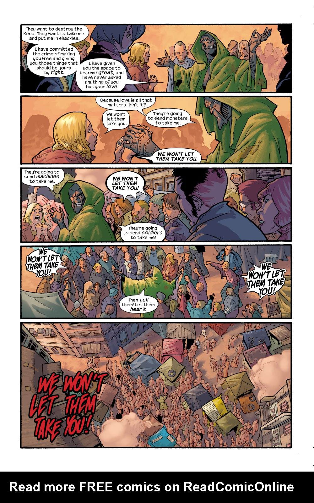 Read online Ultimate Fantastic Four (2004) comic -  Issue #11 - 10