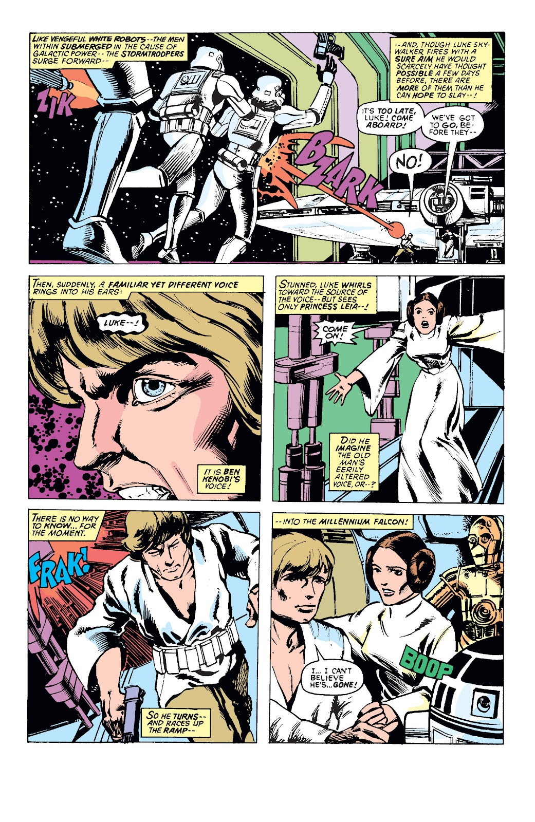 Star Wars (1977) Issue #4 #7 - English 17