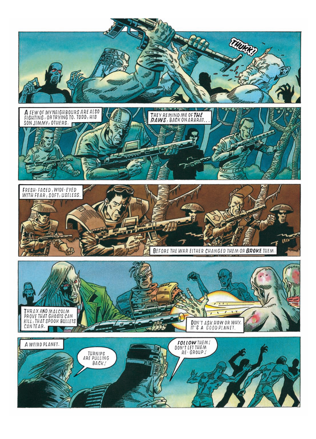 Read online The Complete Bad Company comic -  Issue # TPB - 296