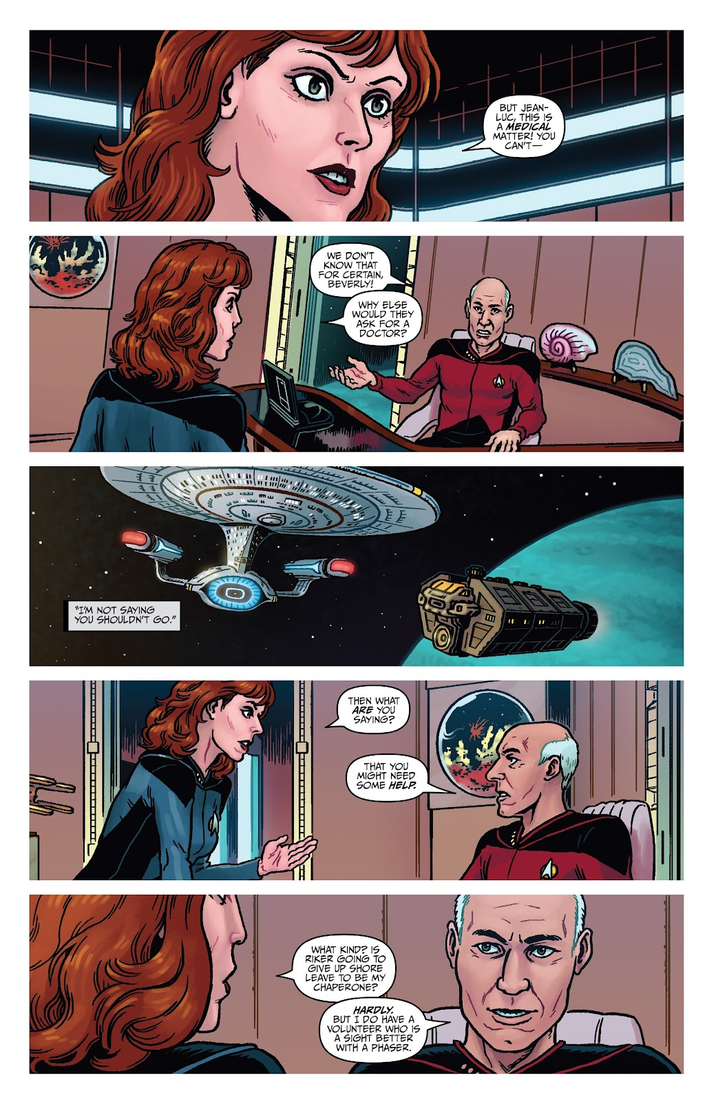 Read online Star Trek: Waypoint Special 2019 comic -  Issue # Full - 13