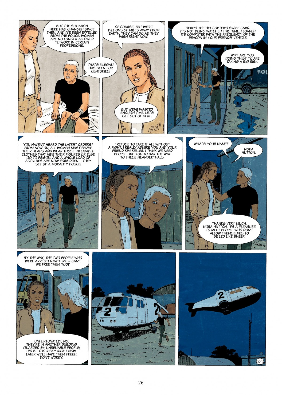 Read online Antares comic -  Issue #4 - 26