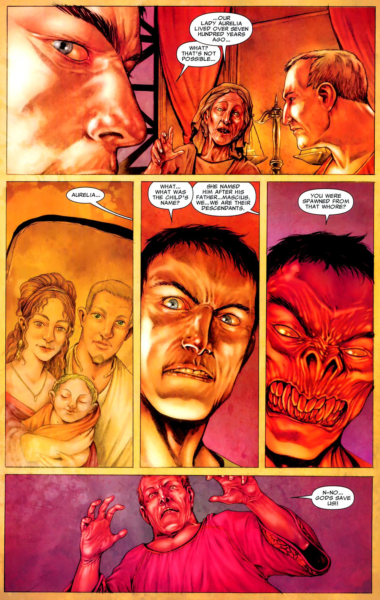 Read online X Necrosha: The Gathering comic -  Issue # Full - 37