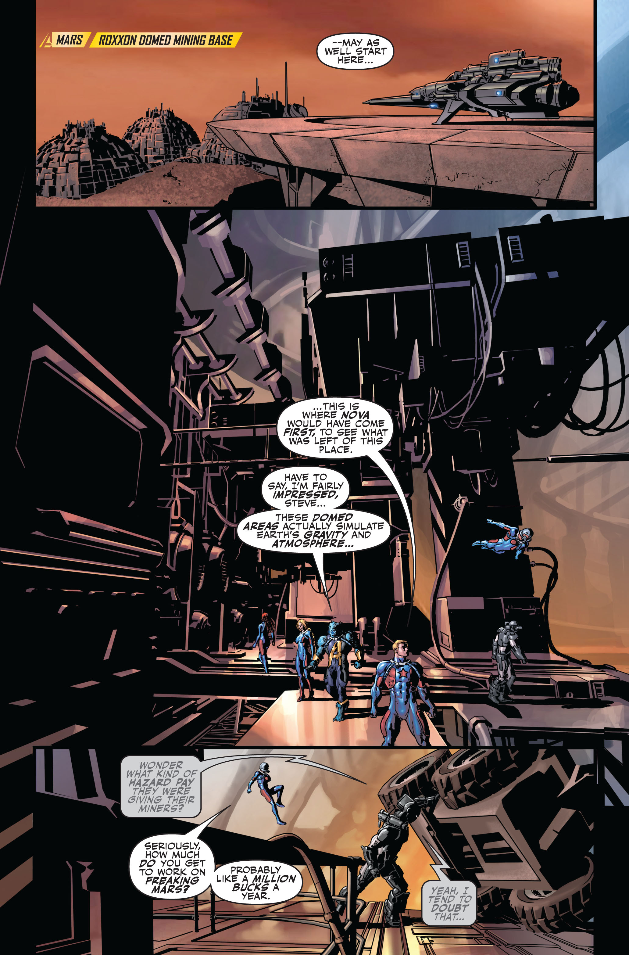 Read online Secret Avengers (2010) comic -  Issue #2 - 5
