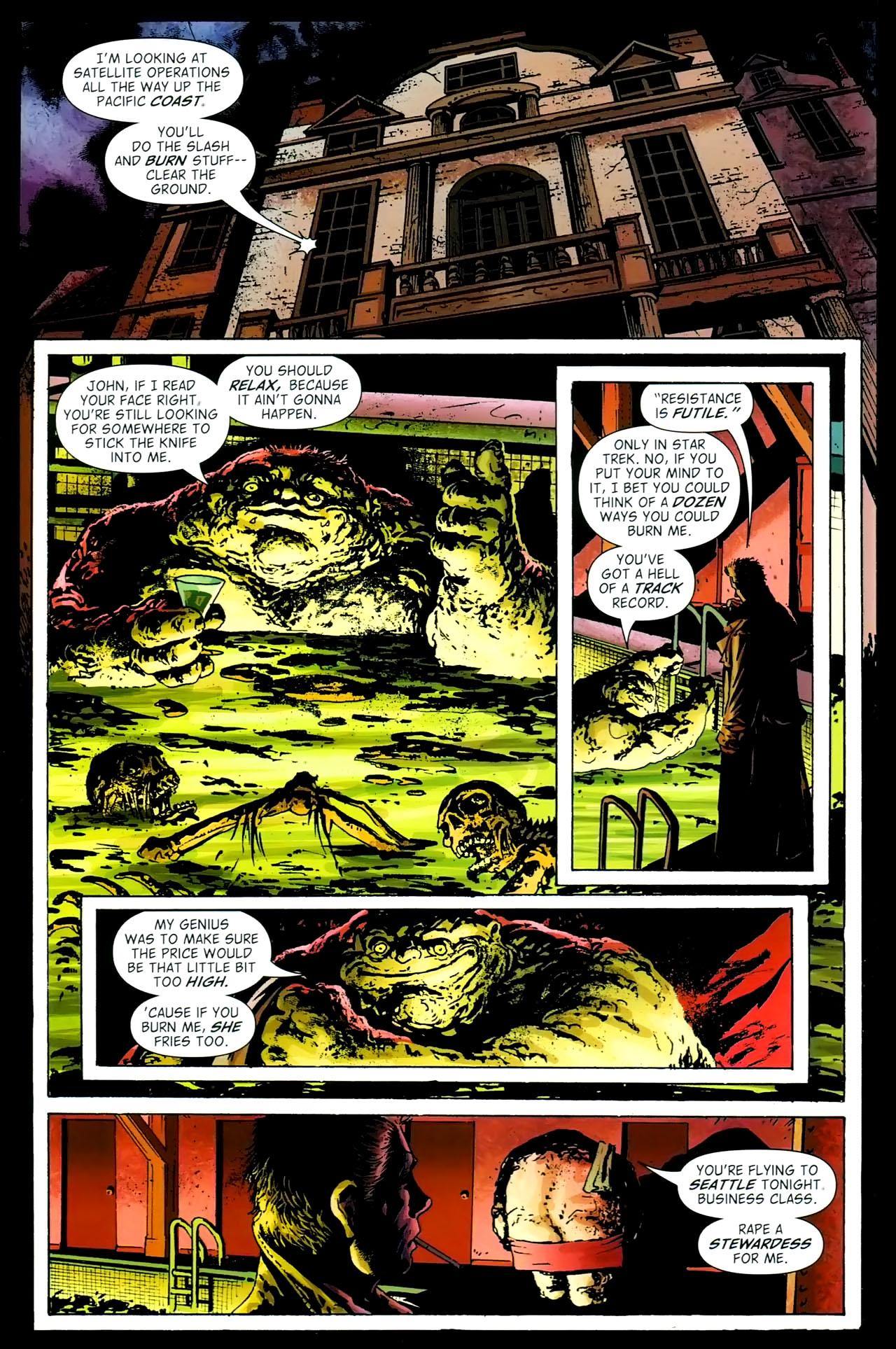 Read online John Constantine Hellblazer: All His Engines comic -  Issue # Full - 98