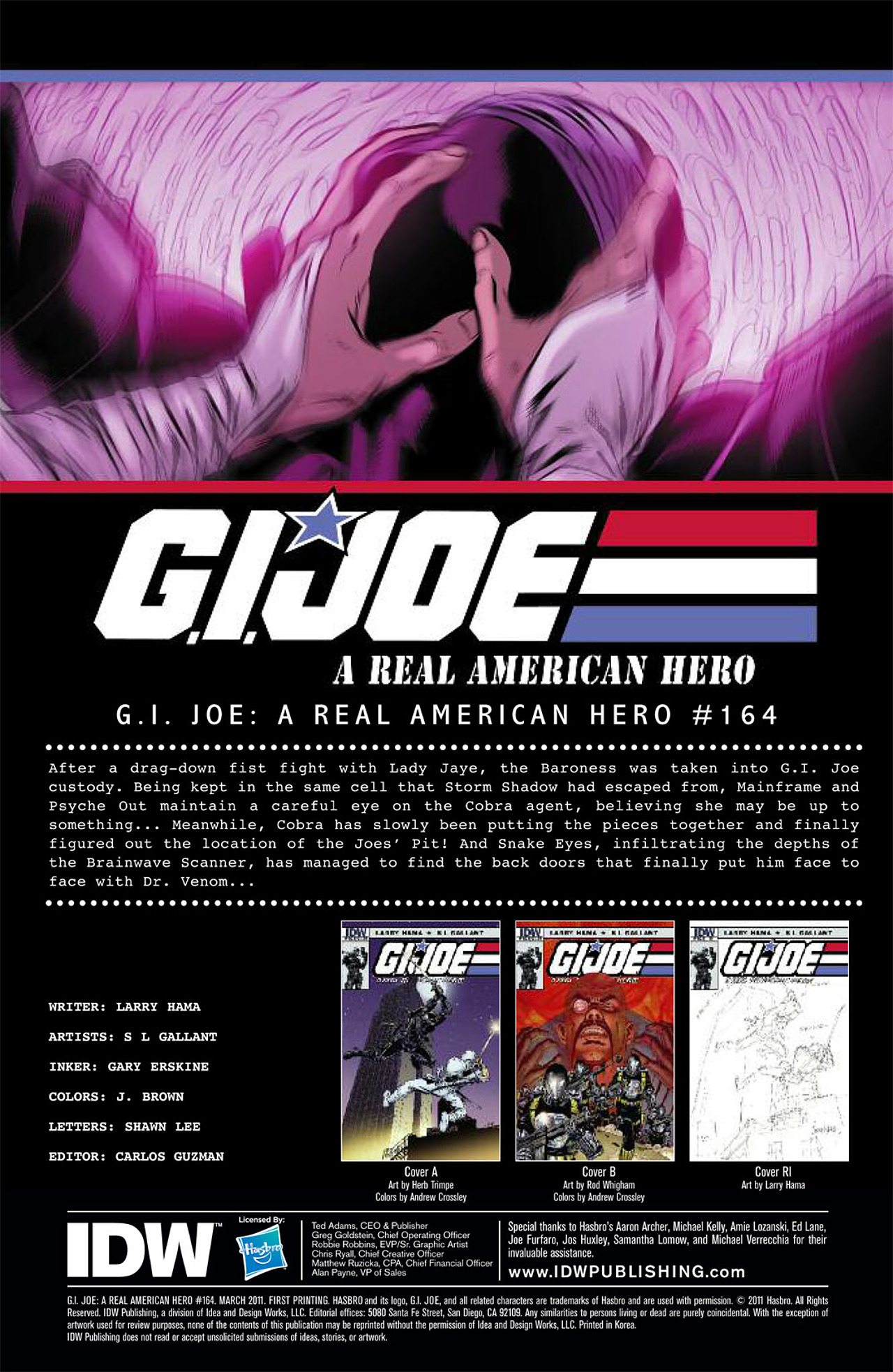 G.I. Joe: A Real American Hero 164 Page 3