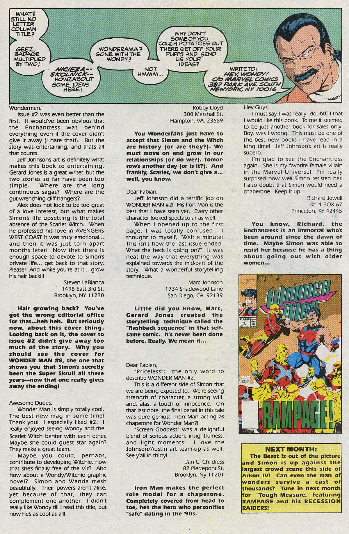 Read online Wonder Man (1991) comic -  Issue #5 - 25