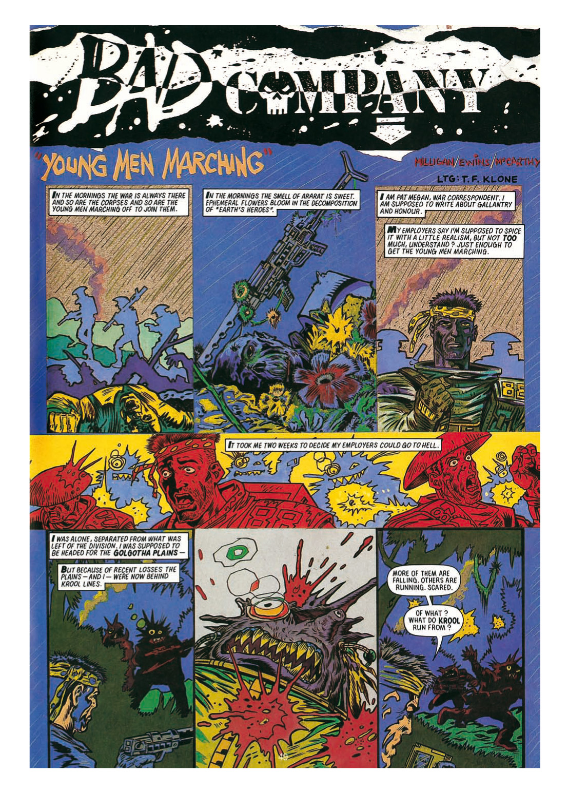 Read online The Complete Bad Company comic -  Issue # TPB - 249