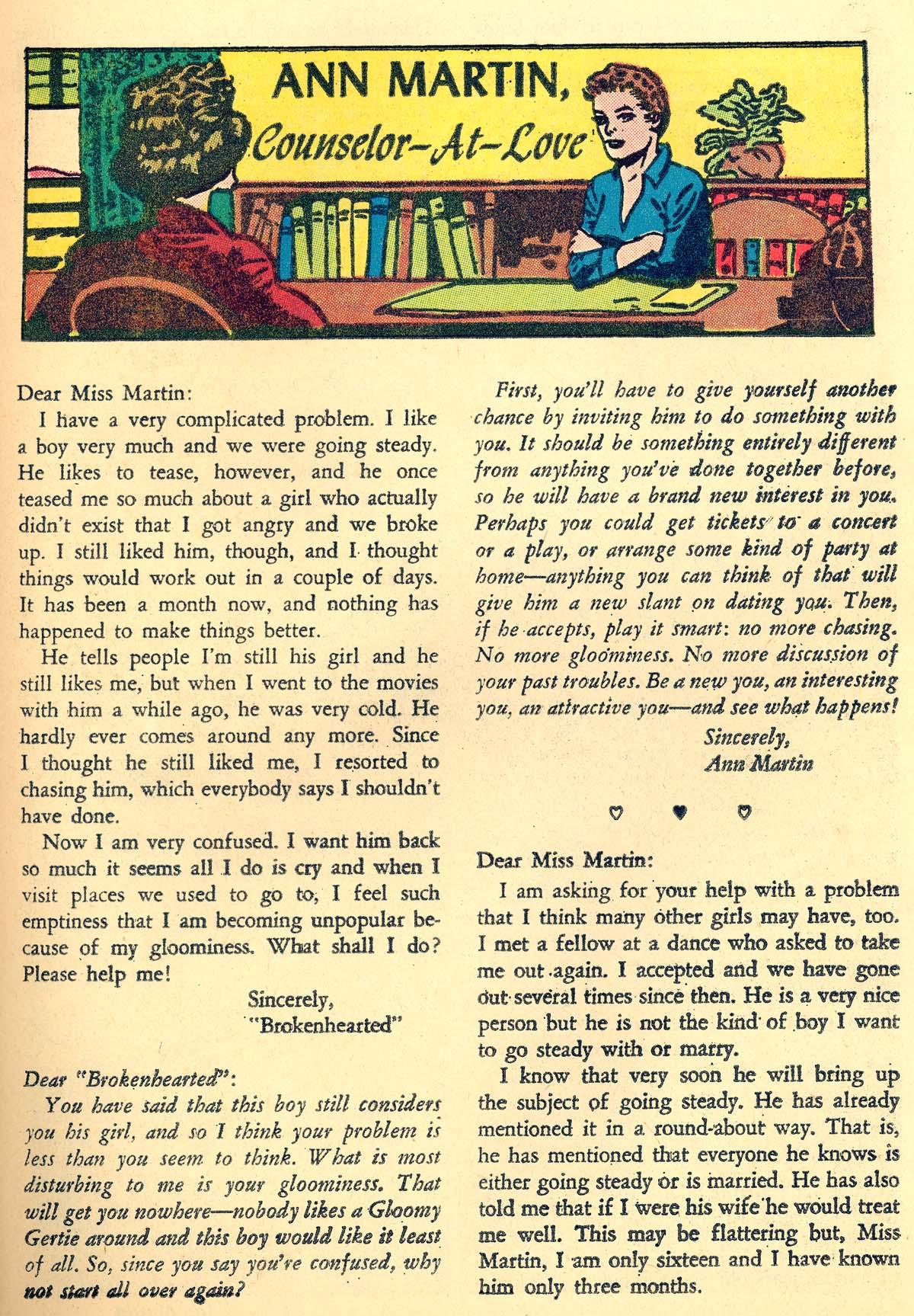 Read online Secret Hearts comic -  Issue #66 - 25