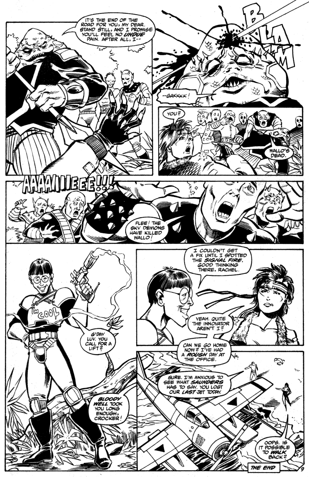 Shattered Earth issue 2 - Page 11