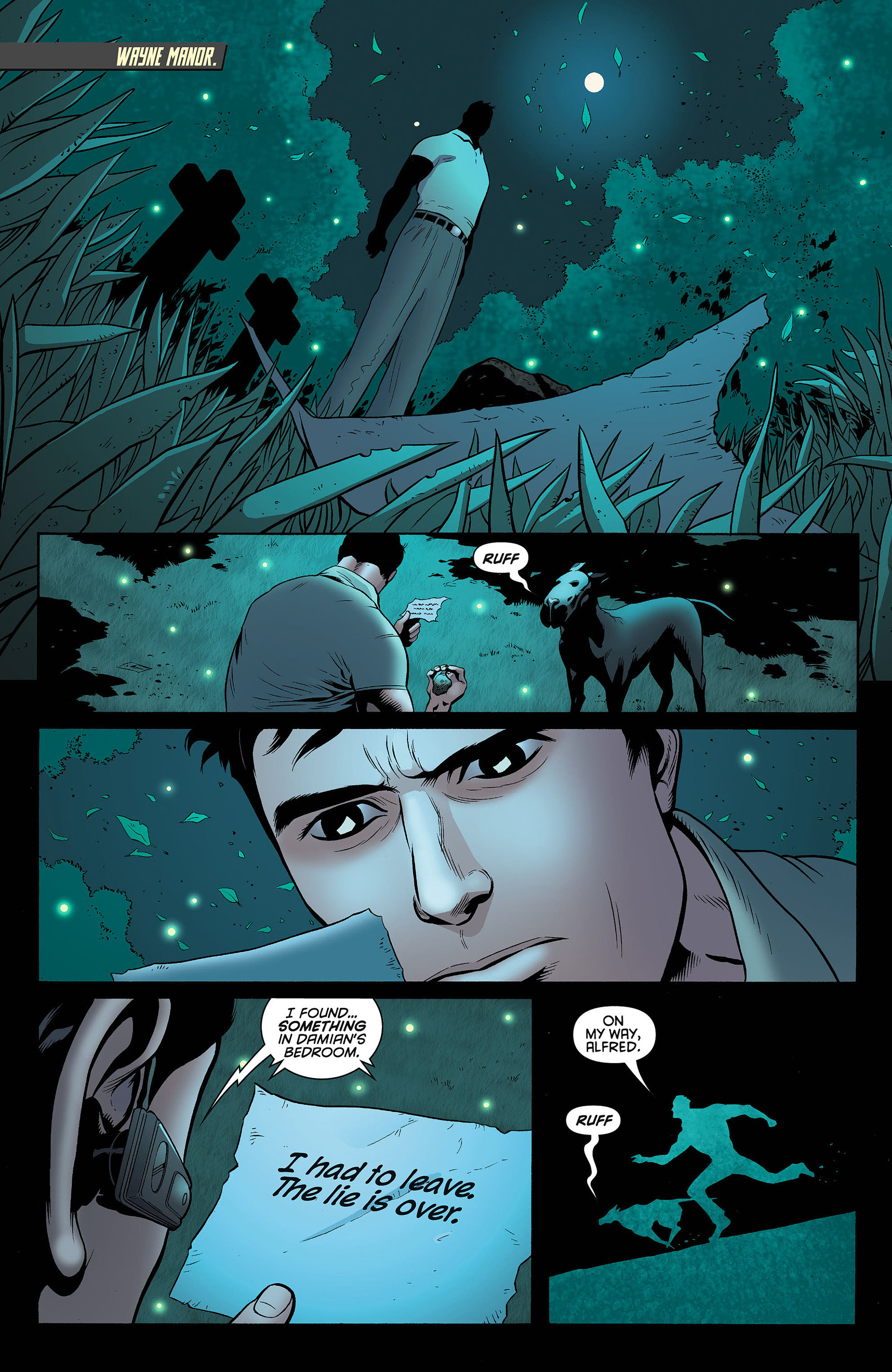 Read online Batman and Robin (2011) comic -  Issue #5 - 2
