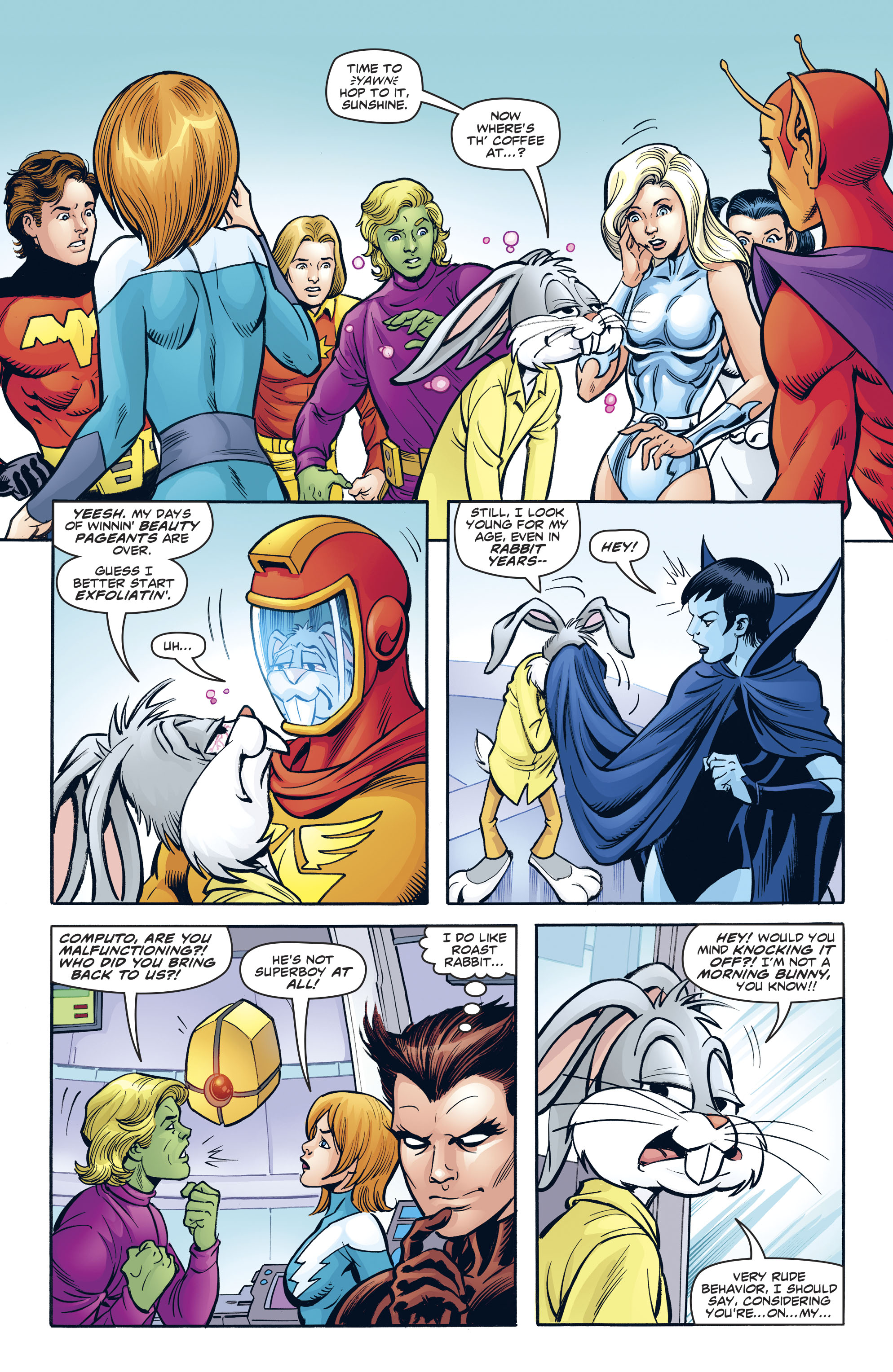 Read online Legion of Super-Heroes/Bugs Bunny Special comic -  Issue # Full - 14