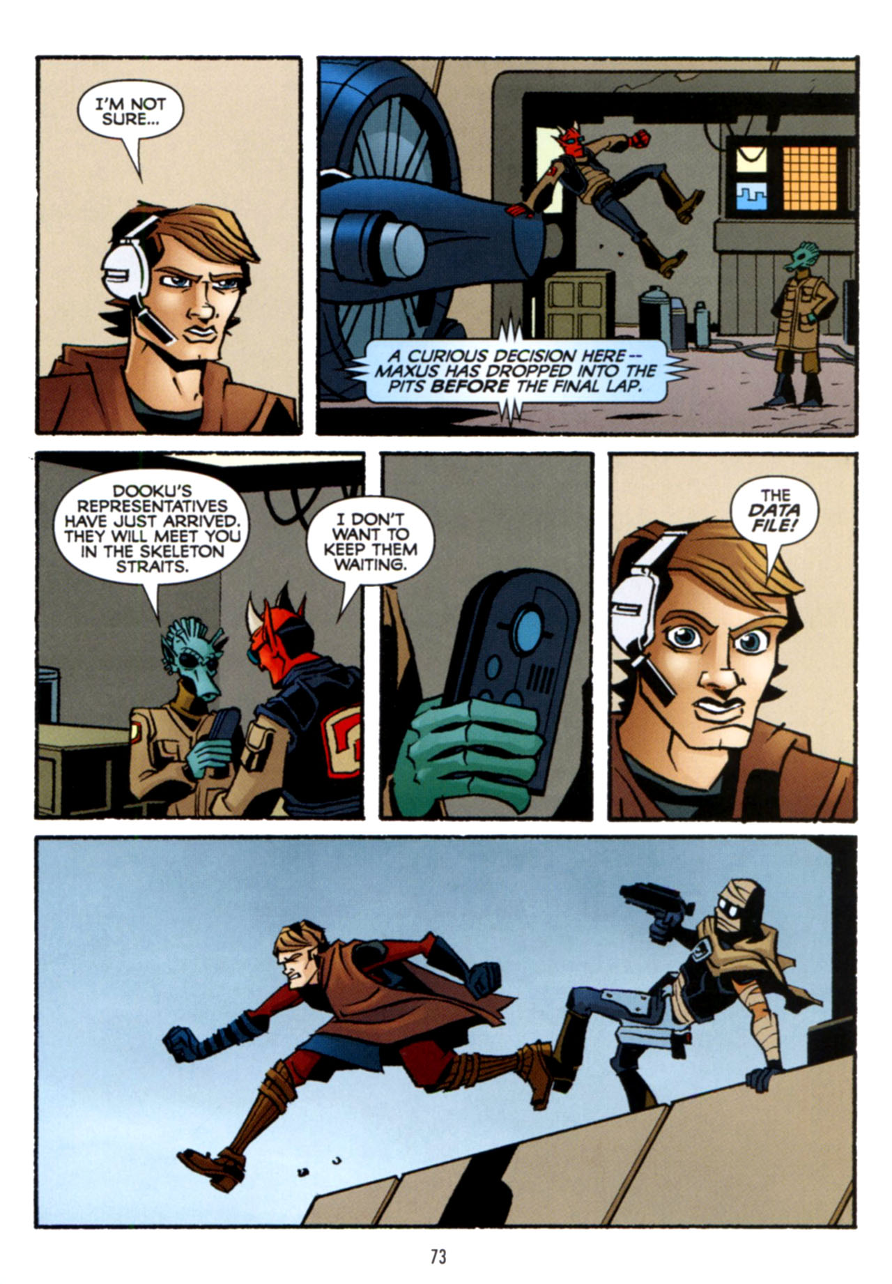 Read online Star Wars: The Clone Wars - Crash Course comic -  Issue # Full - 74