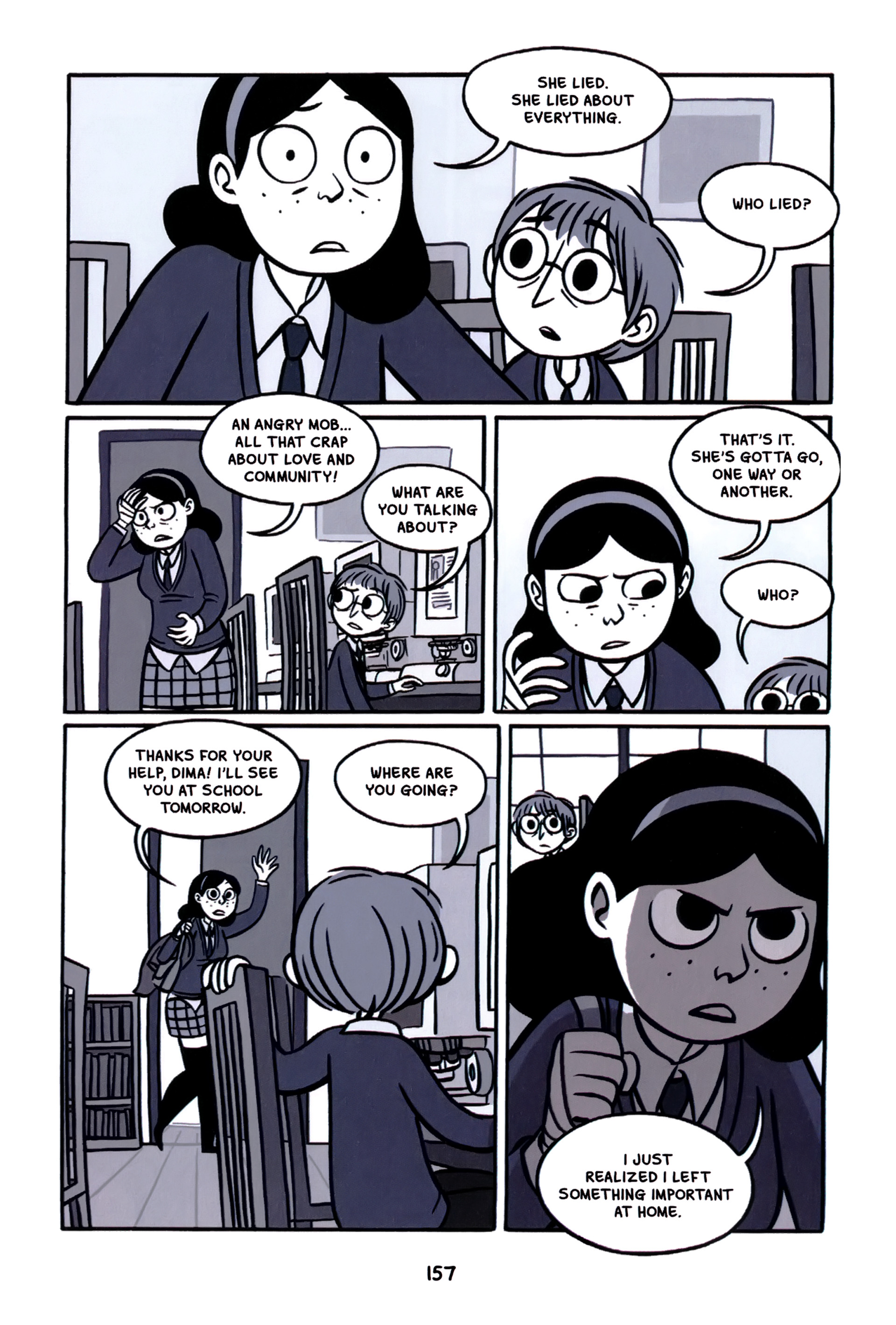 Read online Anya's Ghost comic -  Issue #1 - 158