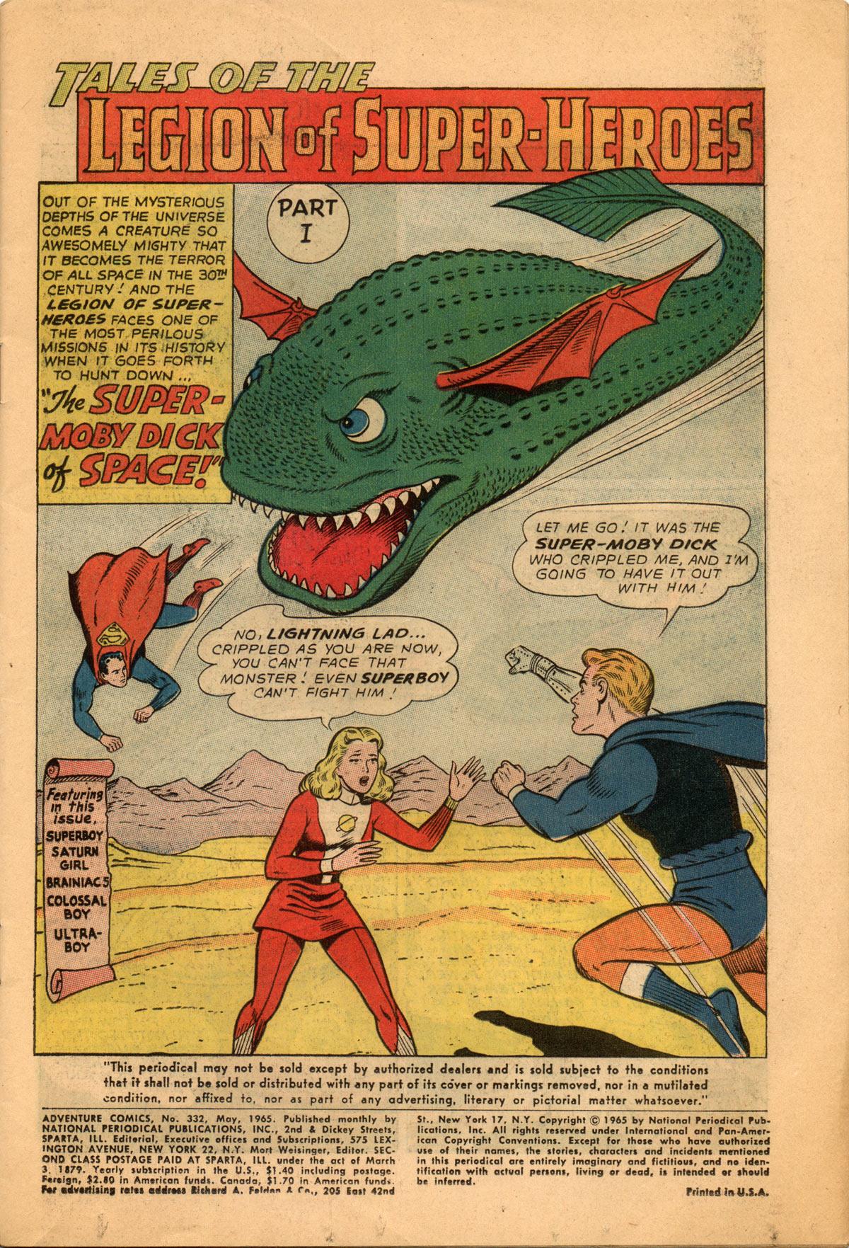 Read online Adventure Comics (1938) comic -  Issue #332 - 3