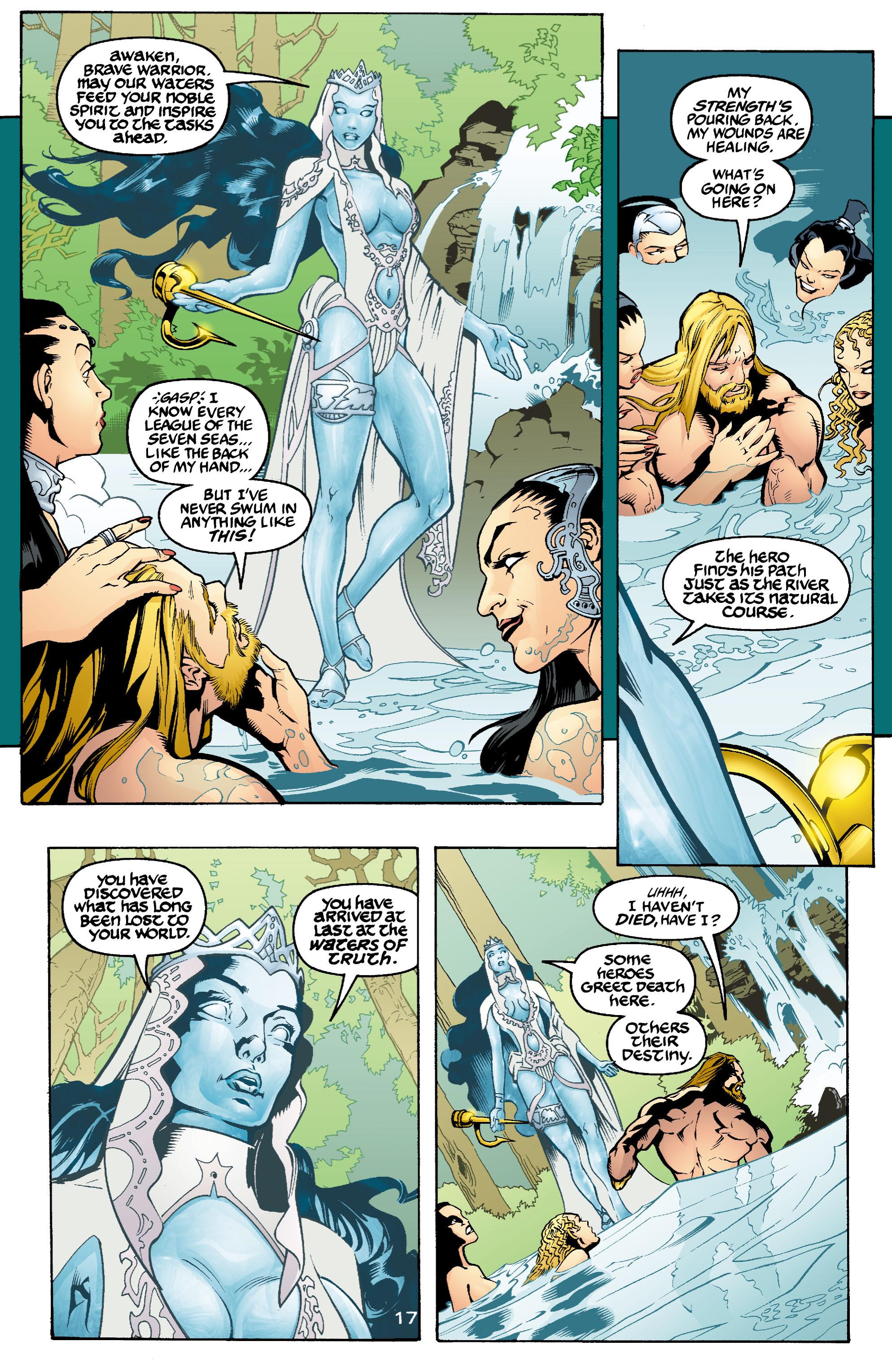 Read online Aquaman (2003) comic -  Issue #1 - 18
