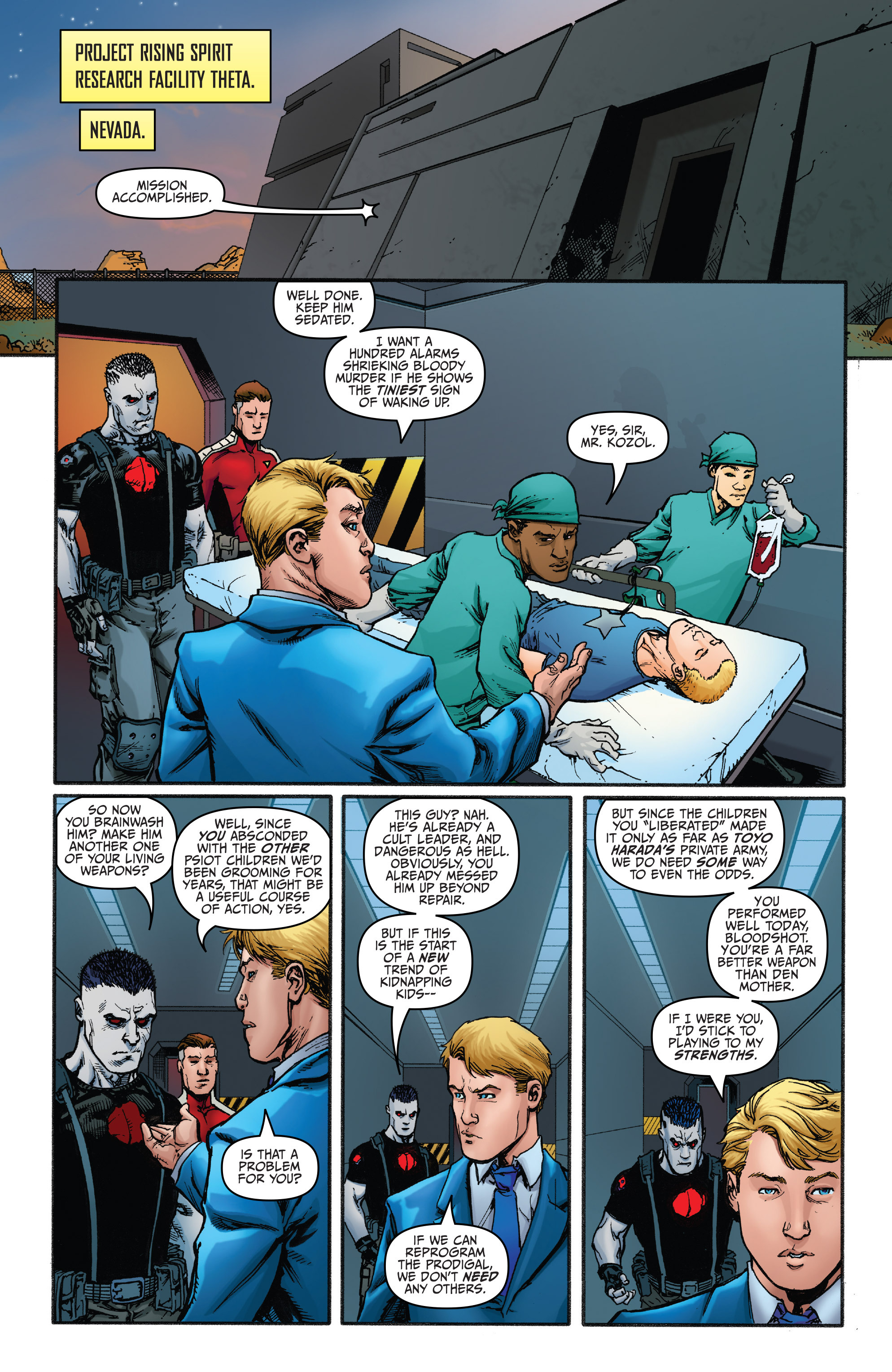 Read online Bloodshot and H.A.R.D.Corps comic -  Issue #20 - 17