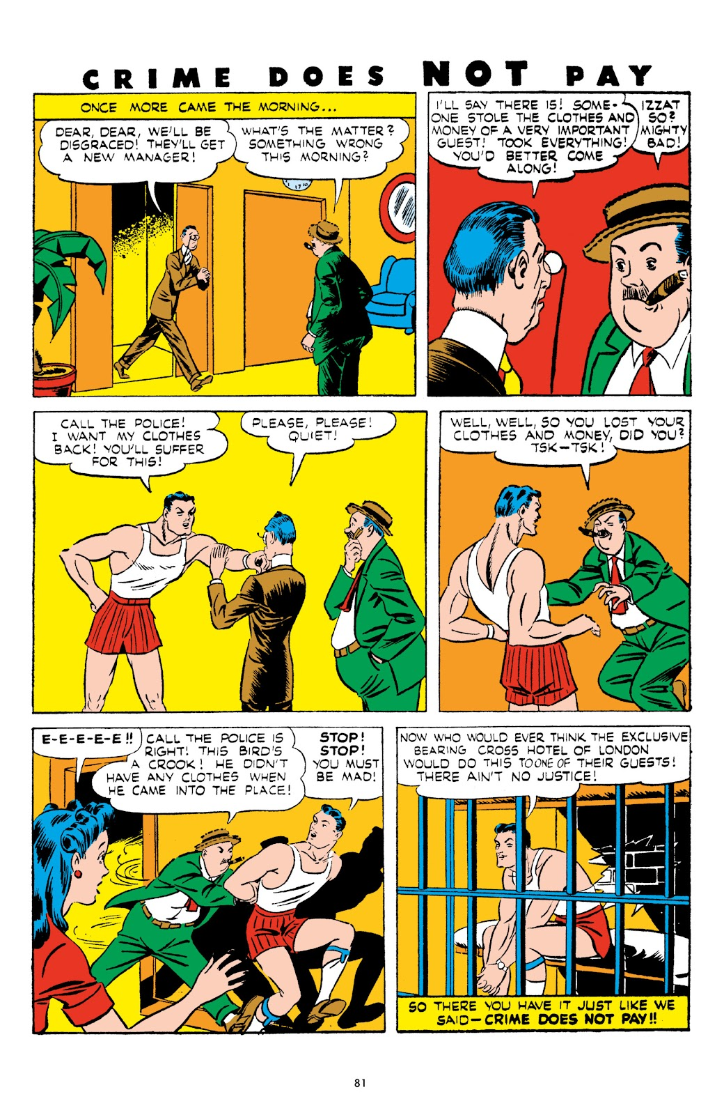 Read online Crime Does Not Pay Archives comic -  Issue # TPB 5 (Part 1) - 81