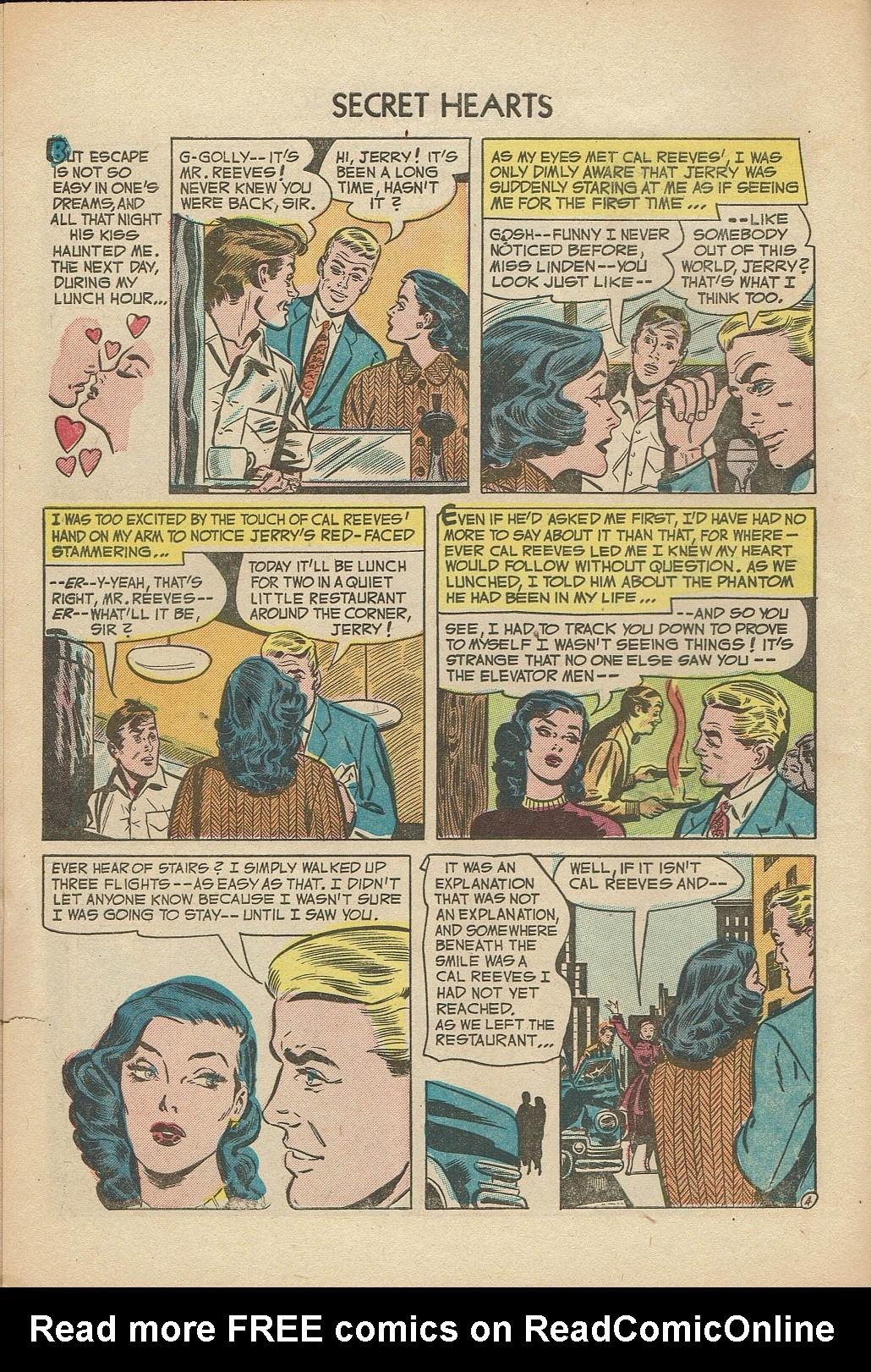 Read online Secret Hearts comic -  Issue #14 - 6