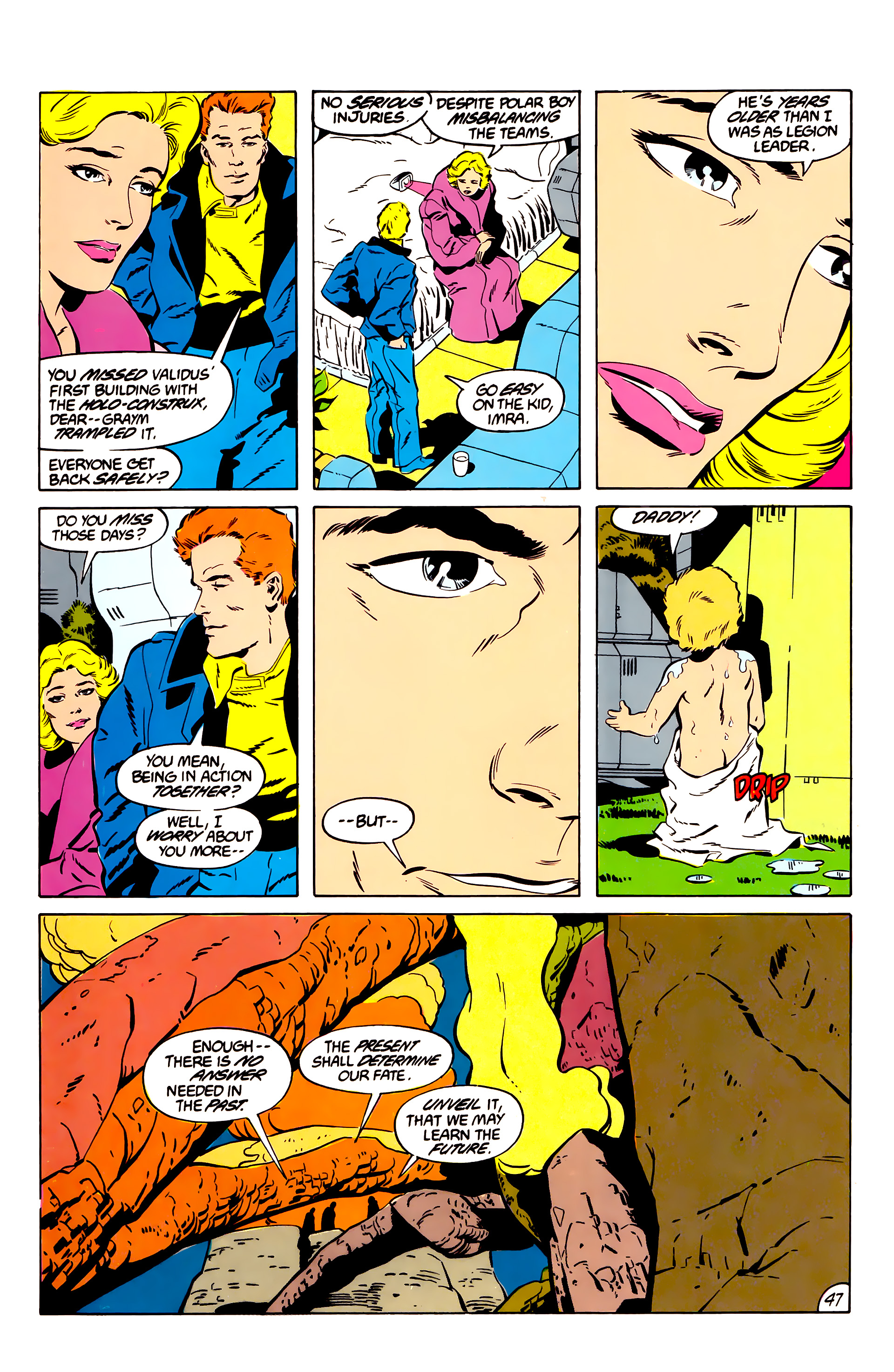 Legion of Super-Heroes (1984) 45 Page 46
