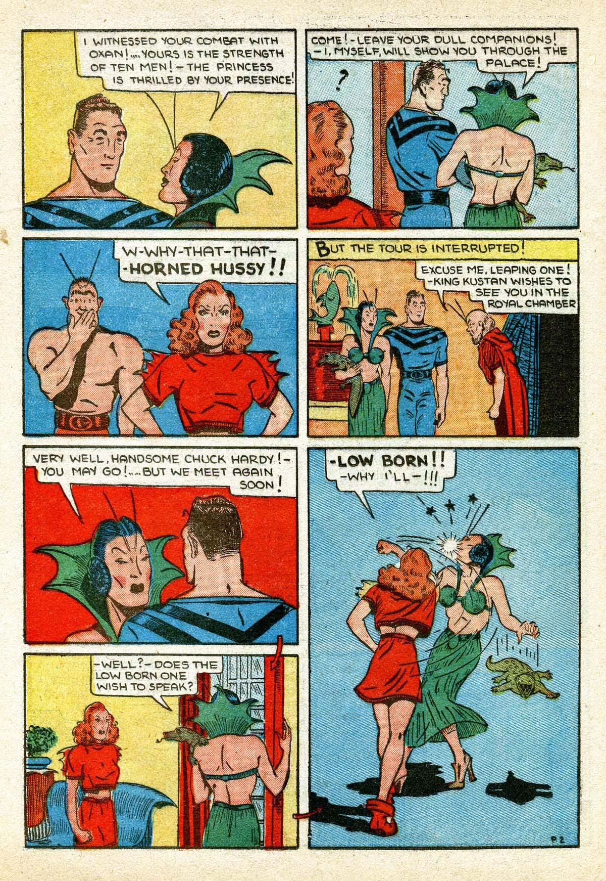 Read online Amazing Man Comics comic -  Issue #8 - 46
