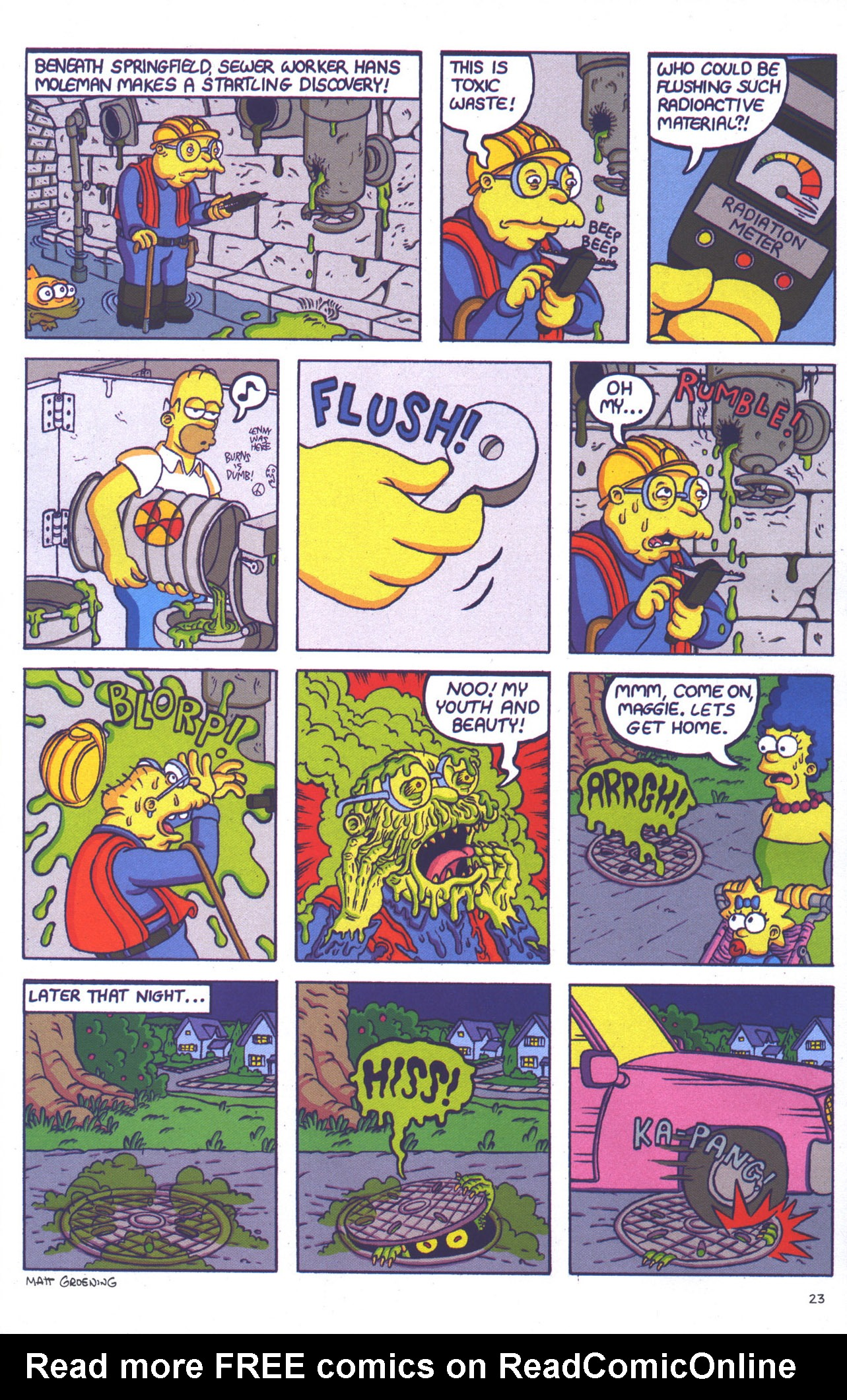 Read online Treehouse of Horror comic -  Issue #15 - 26