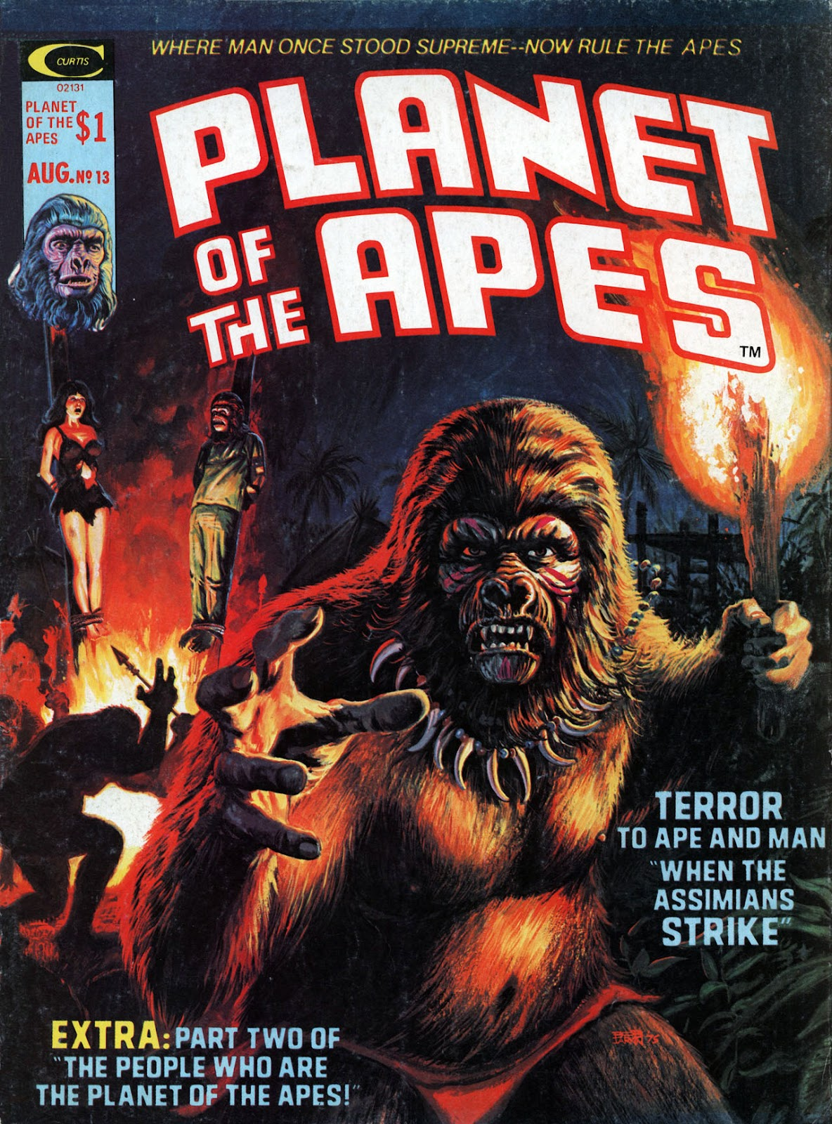Planet of the Apes (1974) 13 Page 1