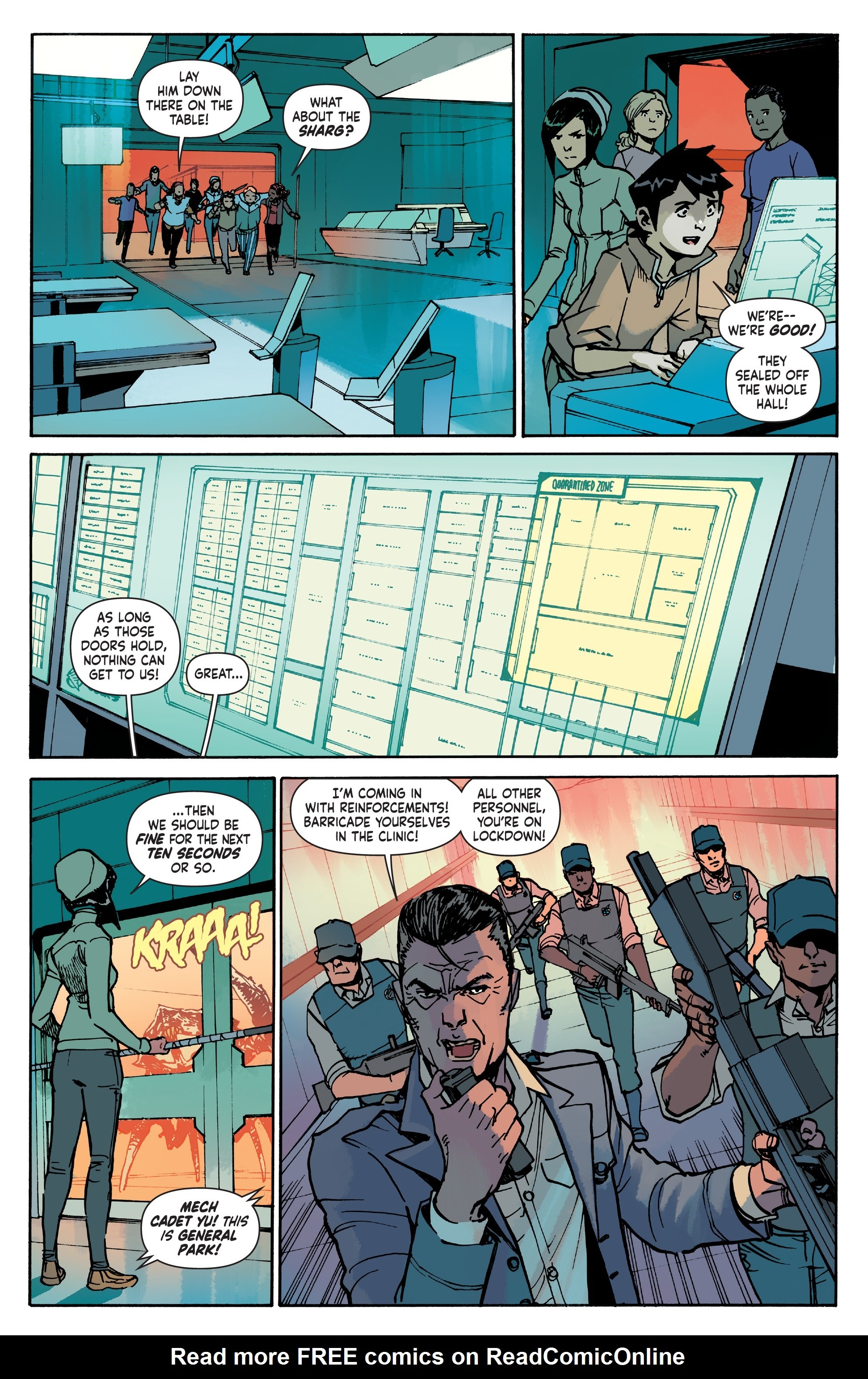 Mech Cadet Yu #_TPB_2 #15 - English 40
