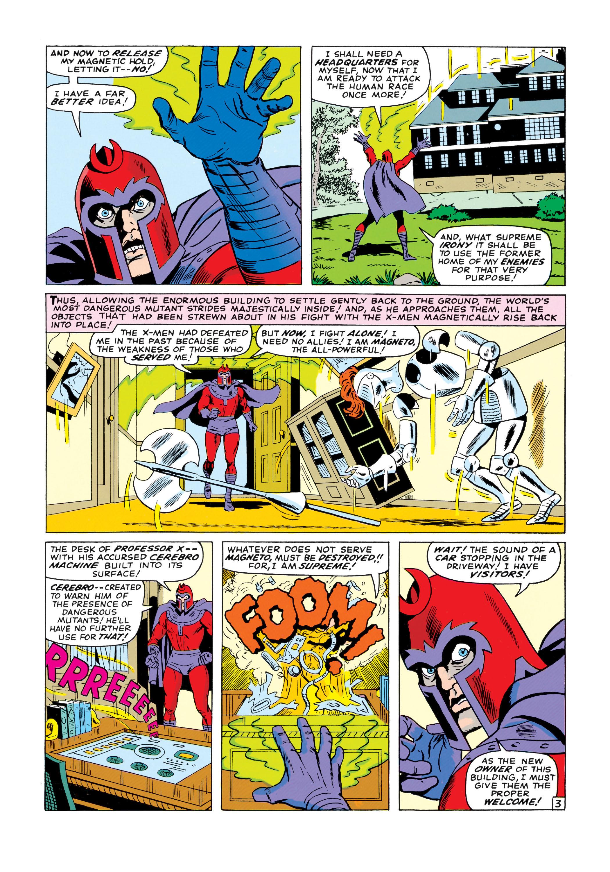 Read online Uncanny X-Men (1963) comic -  Issue #18 - 4