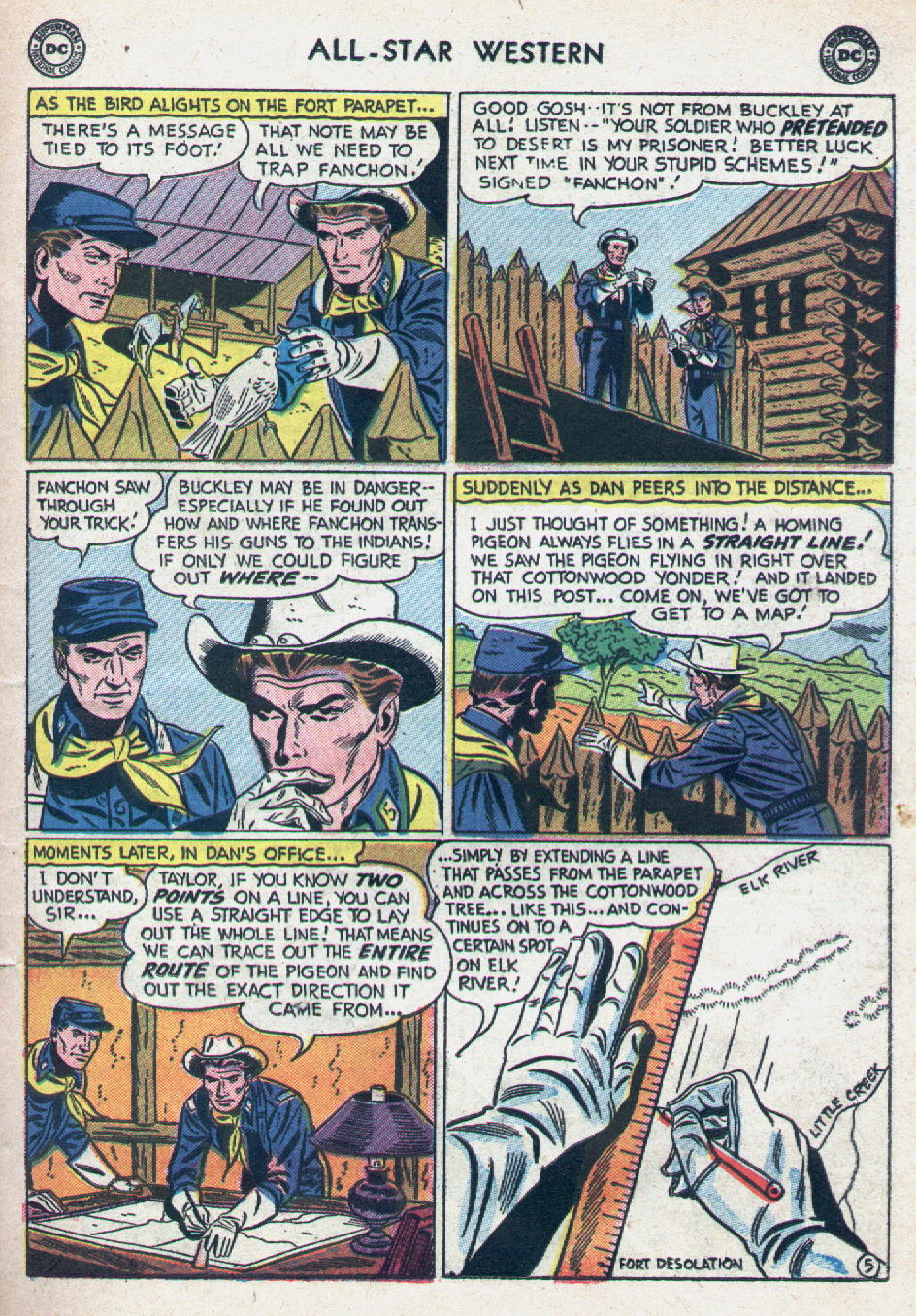Read online All-Star Western (1951) comic -  Issue #90 - 23