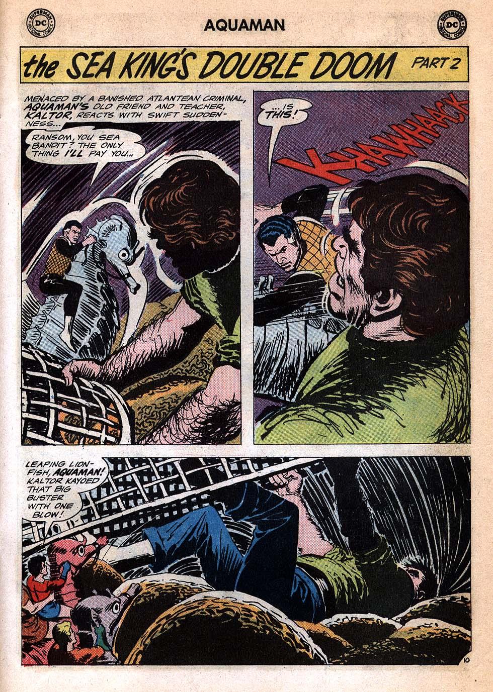 Read online Aquaman (1962) comic -  Issue #20 - 15