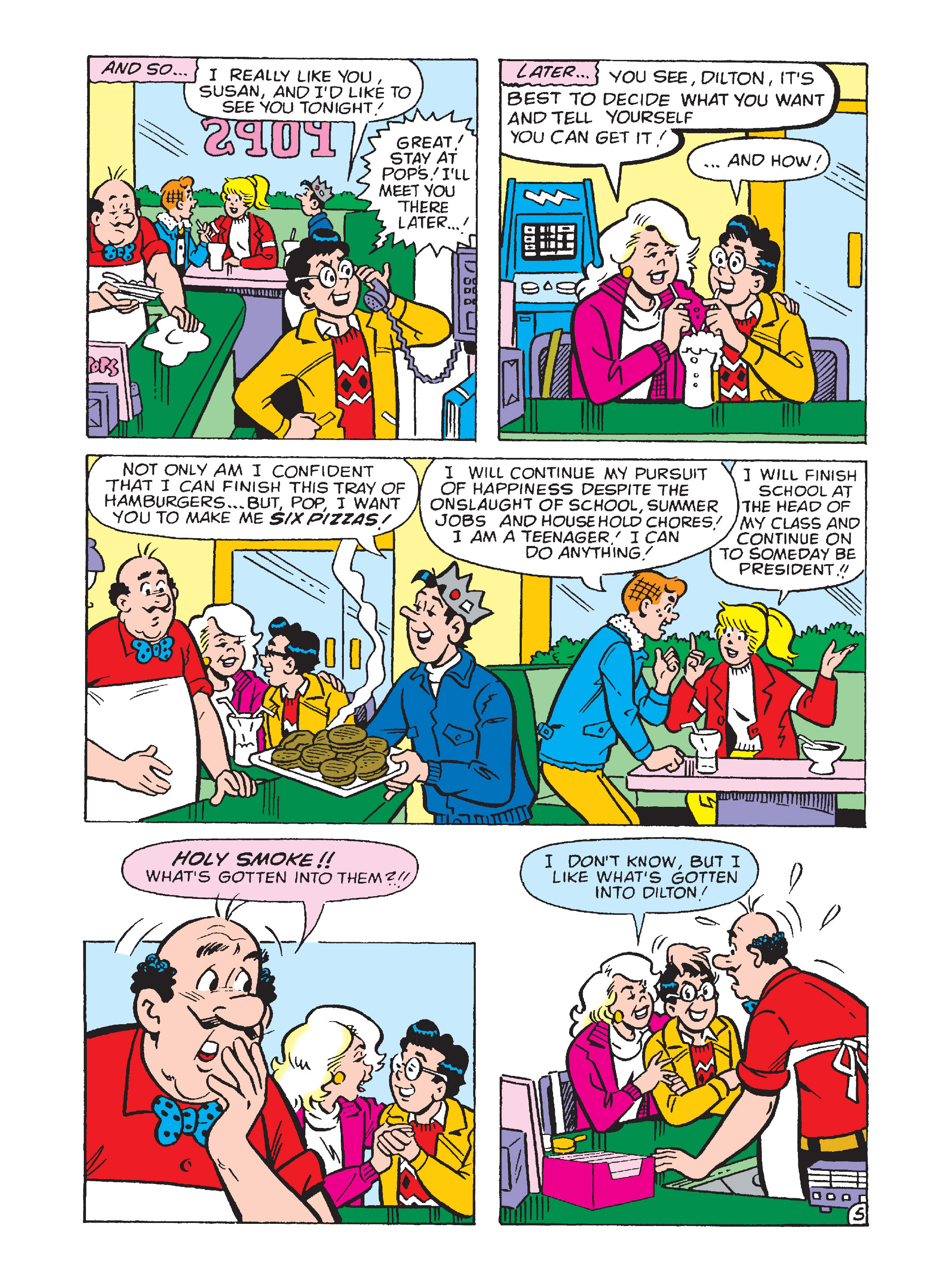 Read online Archie's Funhouse Double Digest comic -  Issue #12 - 150