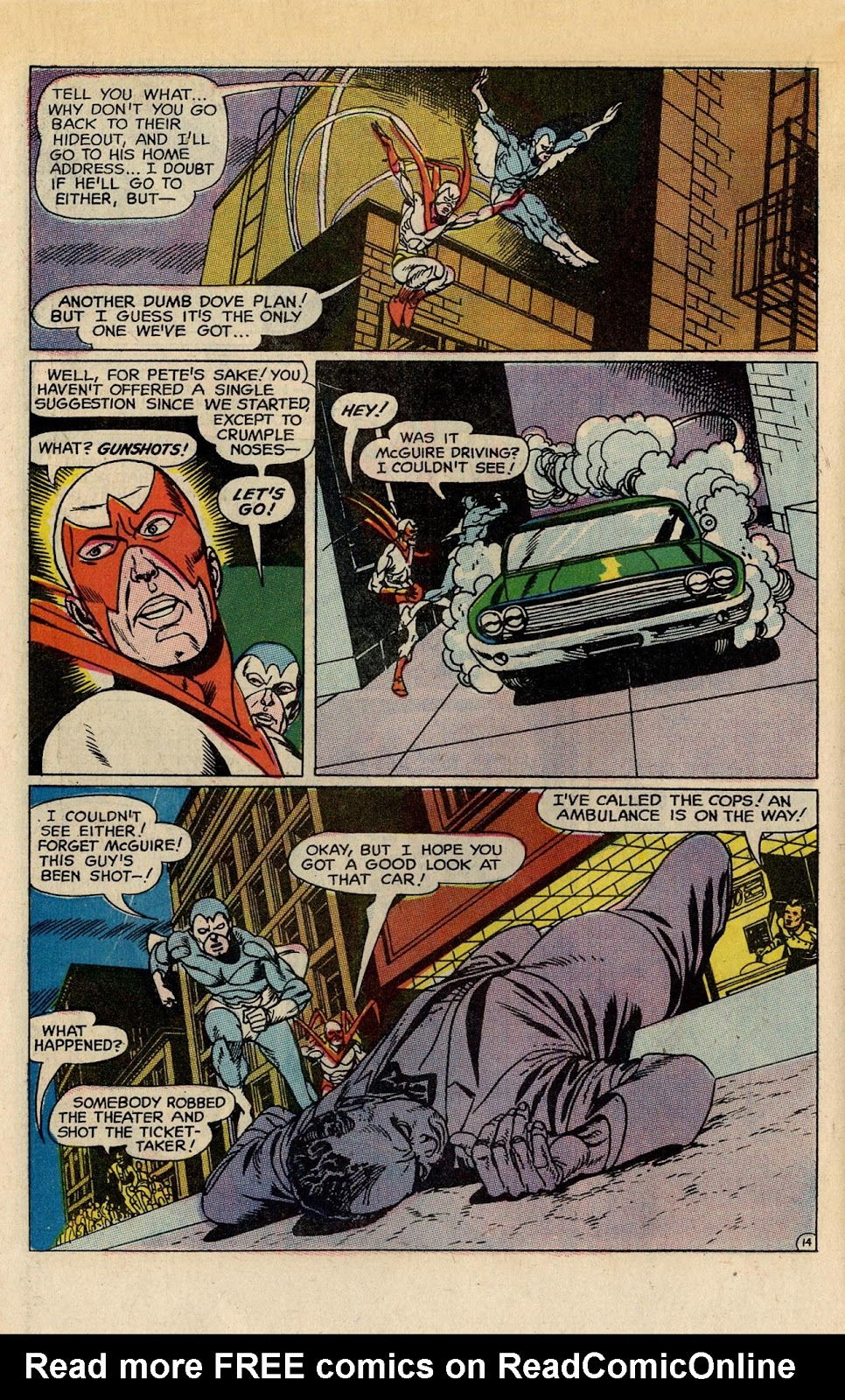The Hawk and the Dove issue 5 - Page 18