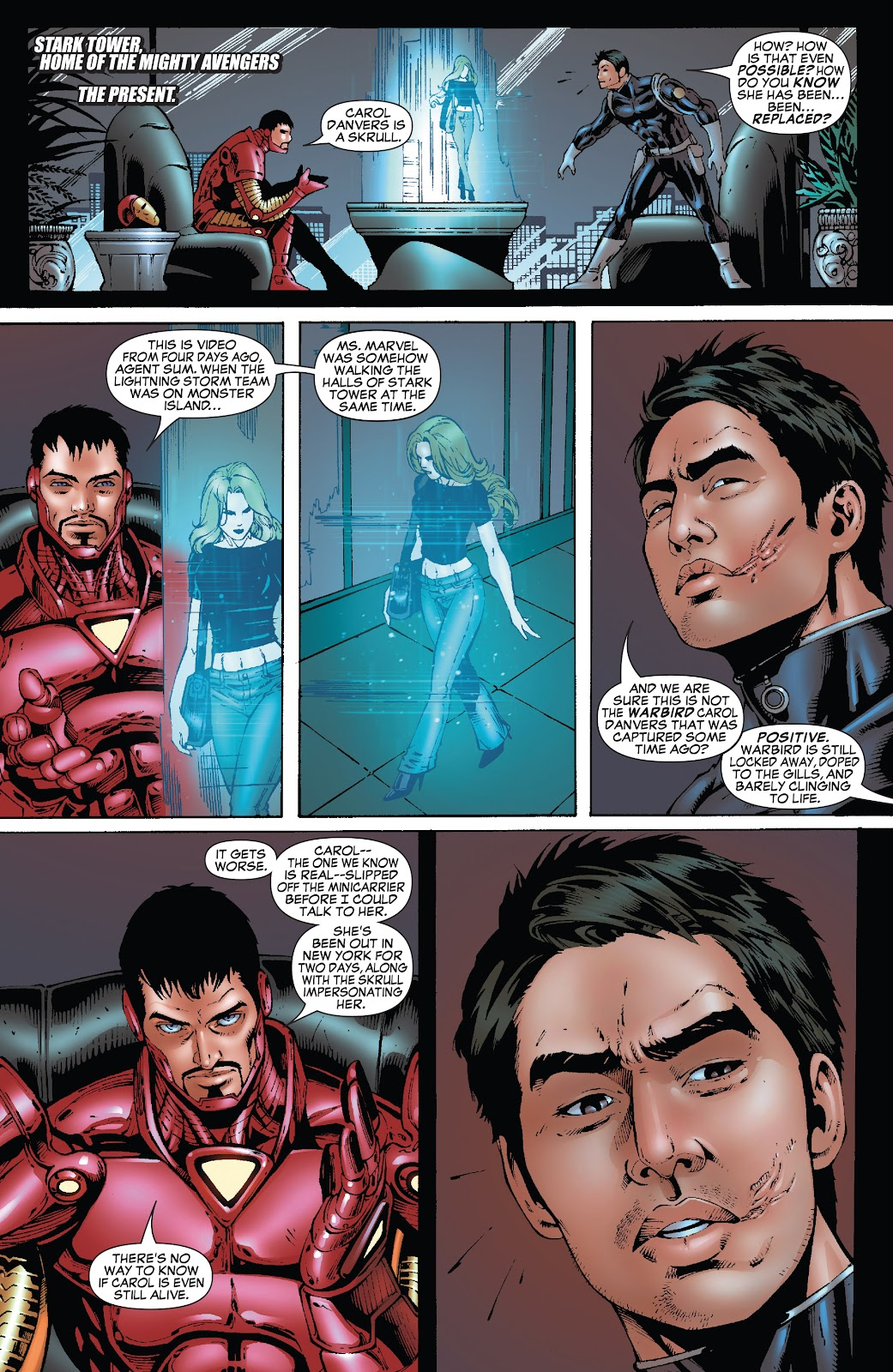 Read online Secret Invasion: Rise of the Skrulls comic -  Issue # TPB (Part 4) - 85