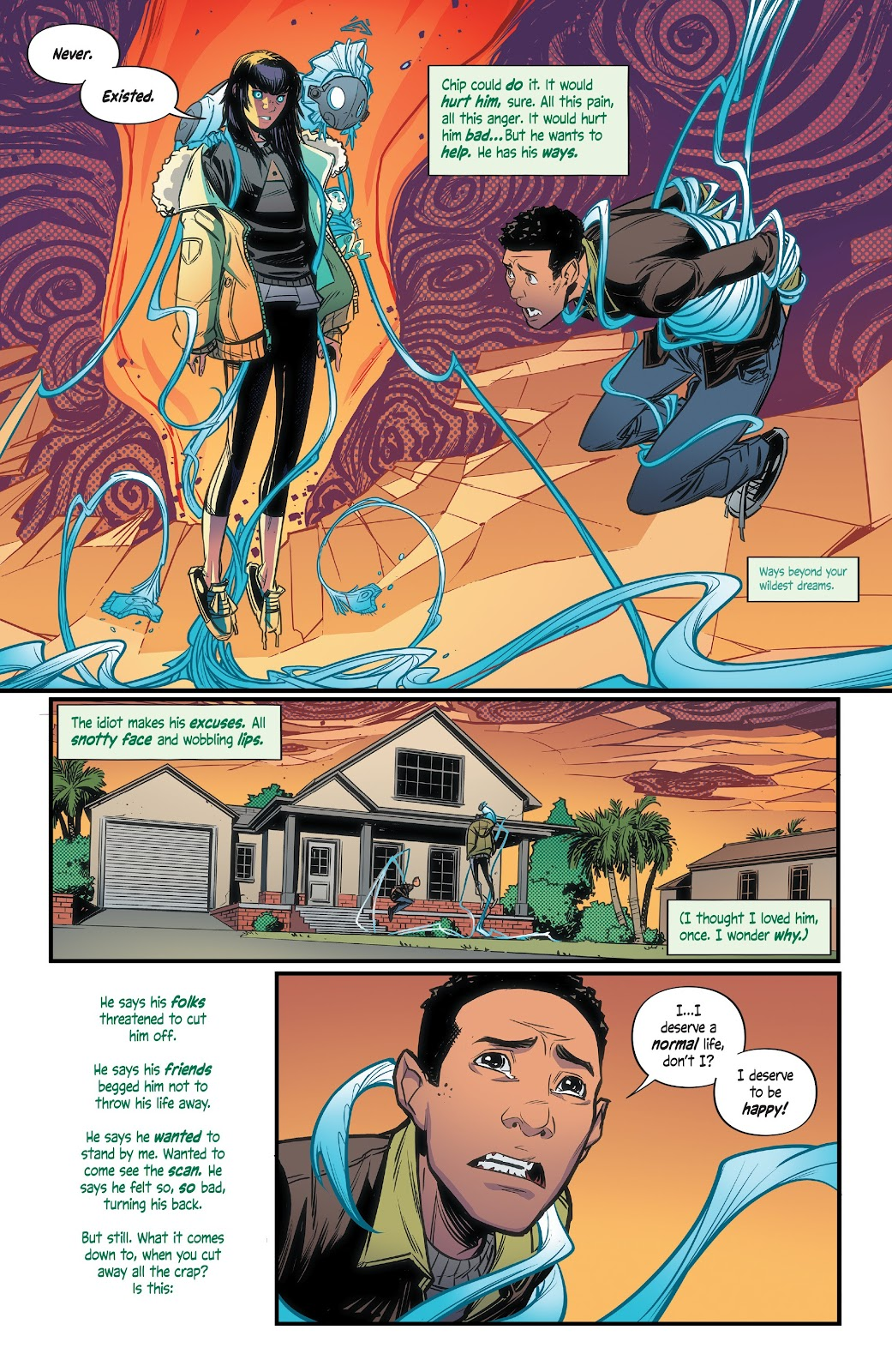 Read online Alienated comic -  Issue #3 - 18