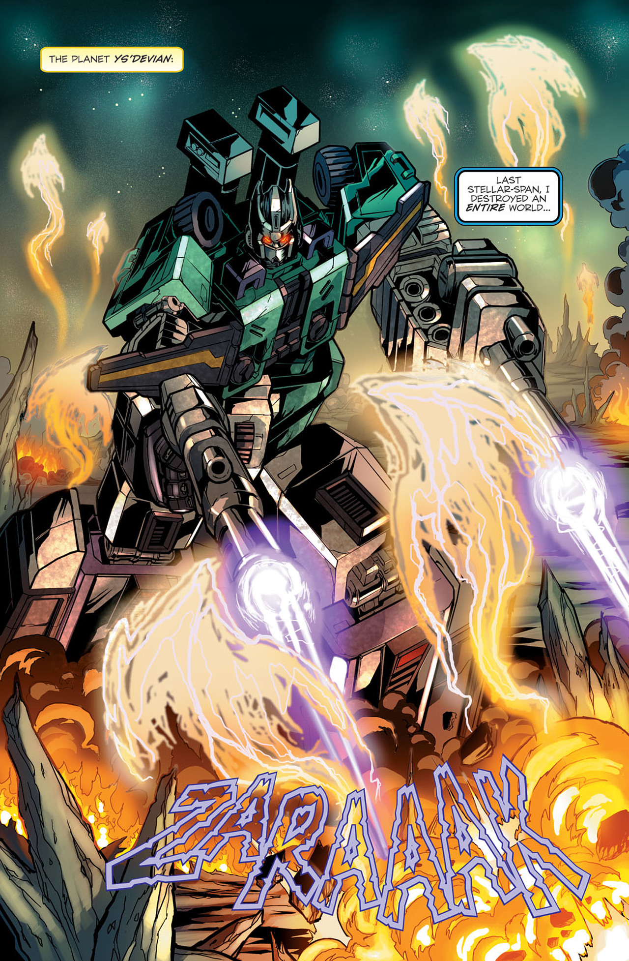 Read online Transformers Spotlight: Sixshot comic -  Issue # Full - 4