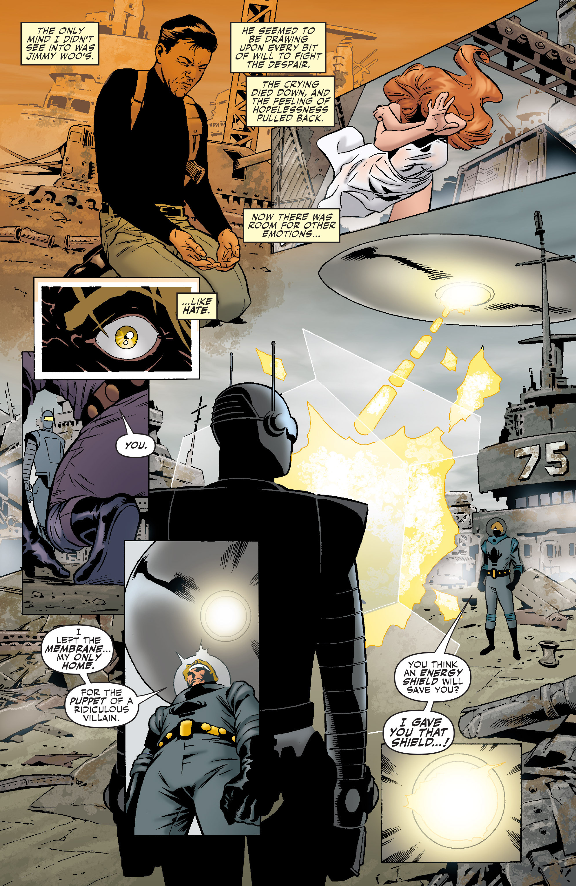 Read online Agents Of Atlas (2006) comic -  Issue #5 - 9