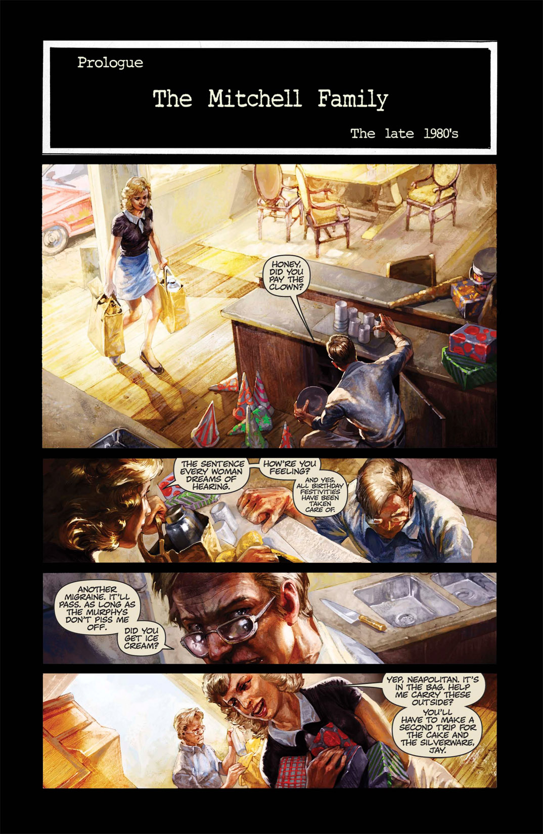 Read online Abattoir comic -  Issue #1 - 3