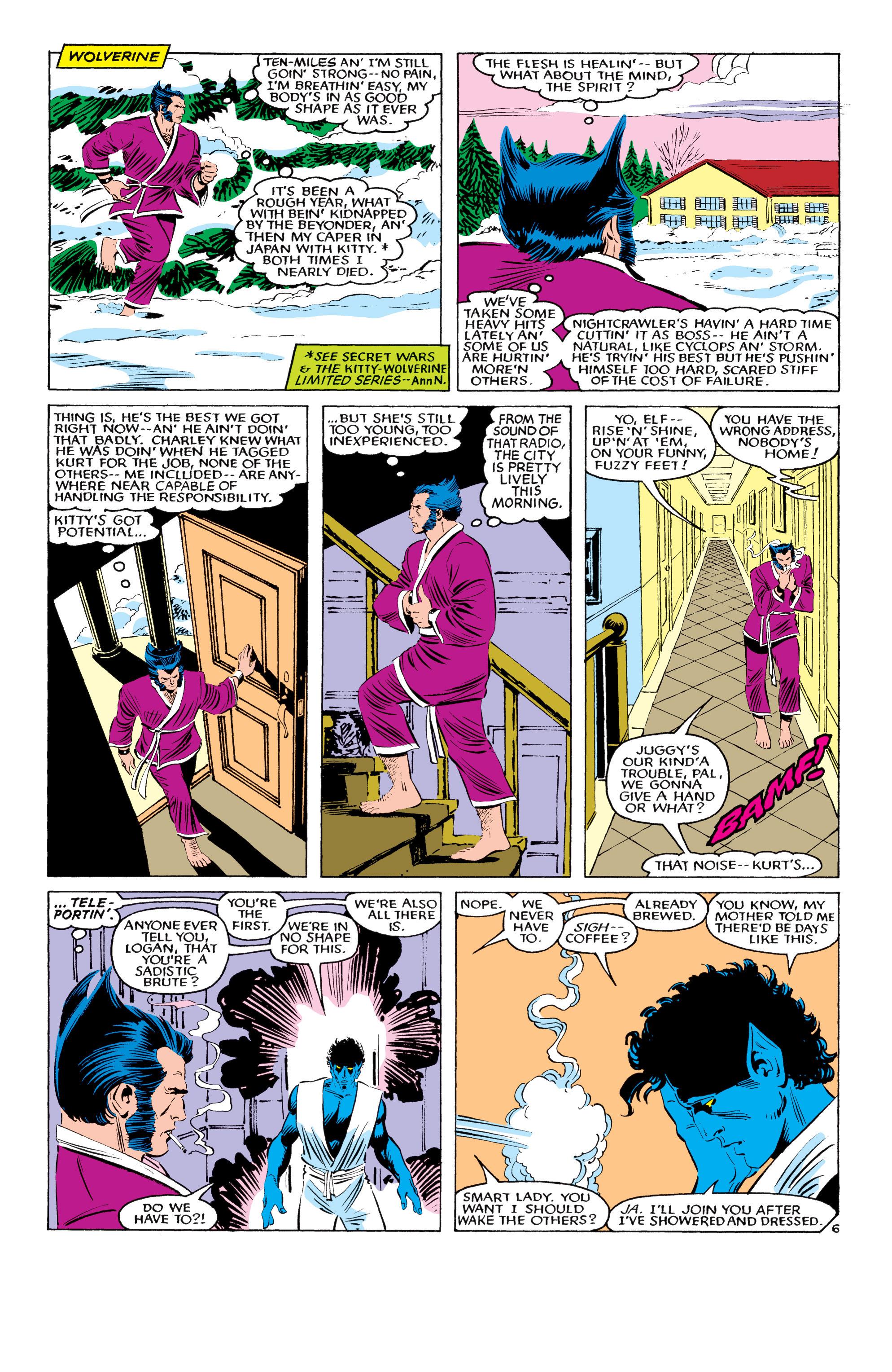 Read online Uncanny X-Men (1963) comic -  Issue #194 - 7