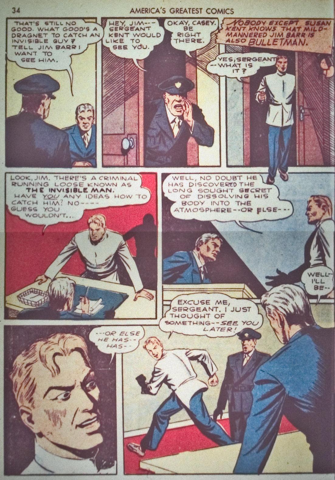 Read online America's Greatest Comics comic -  Issue #1 - 37