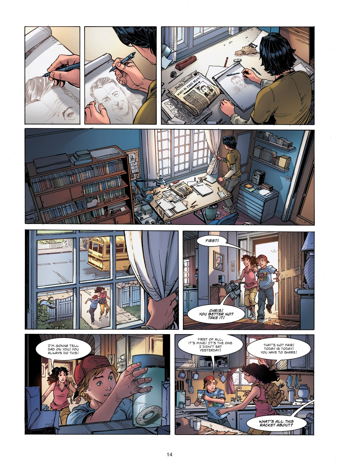 Read online Vigilantes comic -  Issue #1 - 14