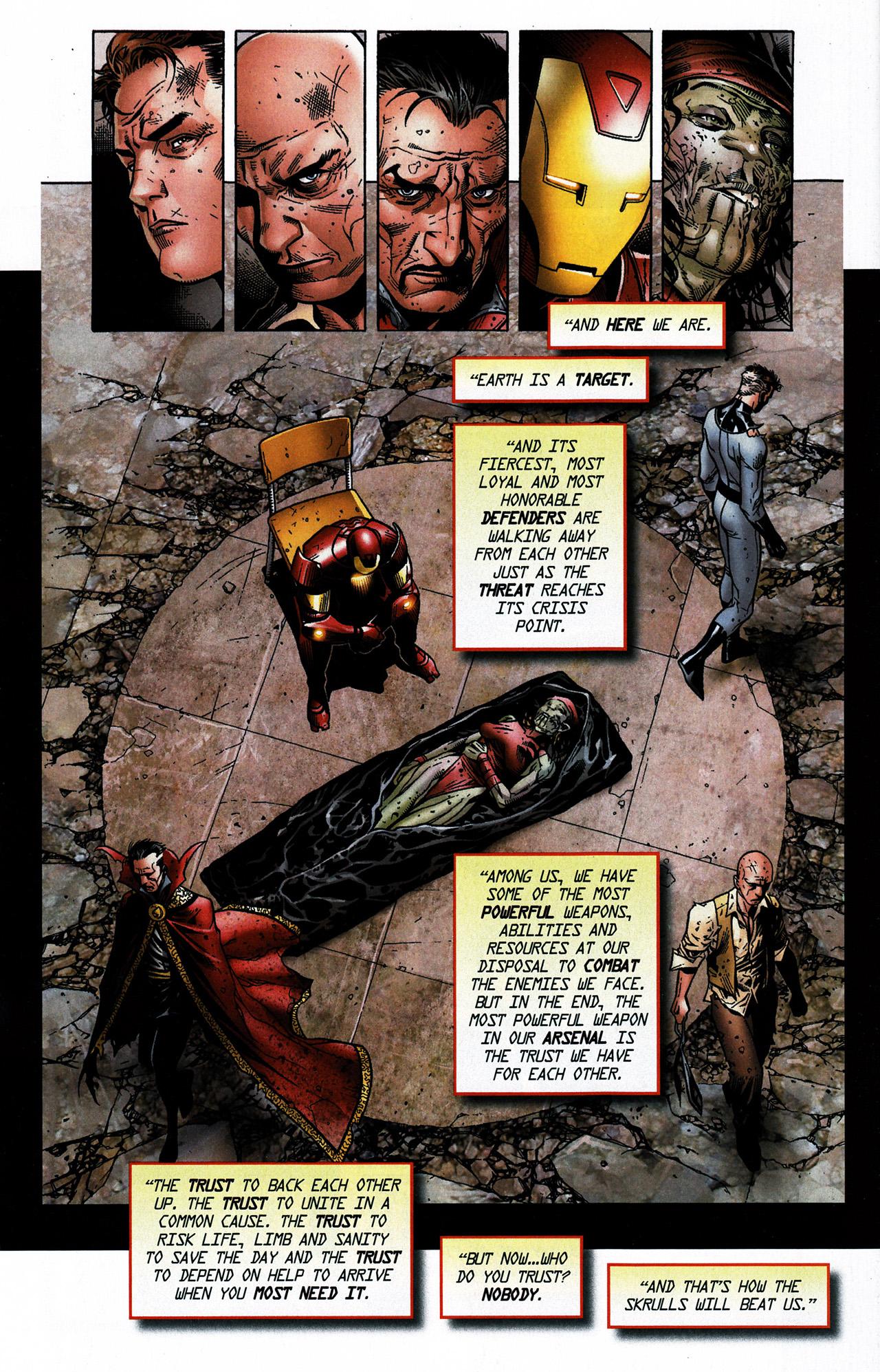 Read online Secret Invasion Saga comic -  Issue # Full - 24