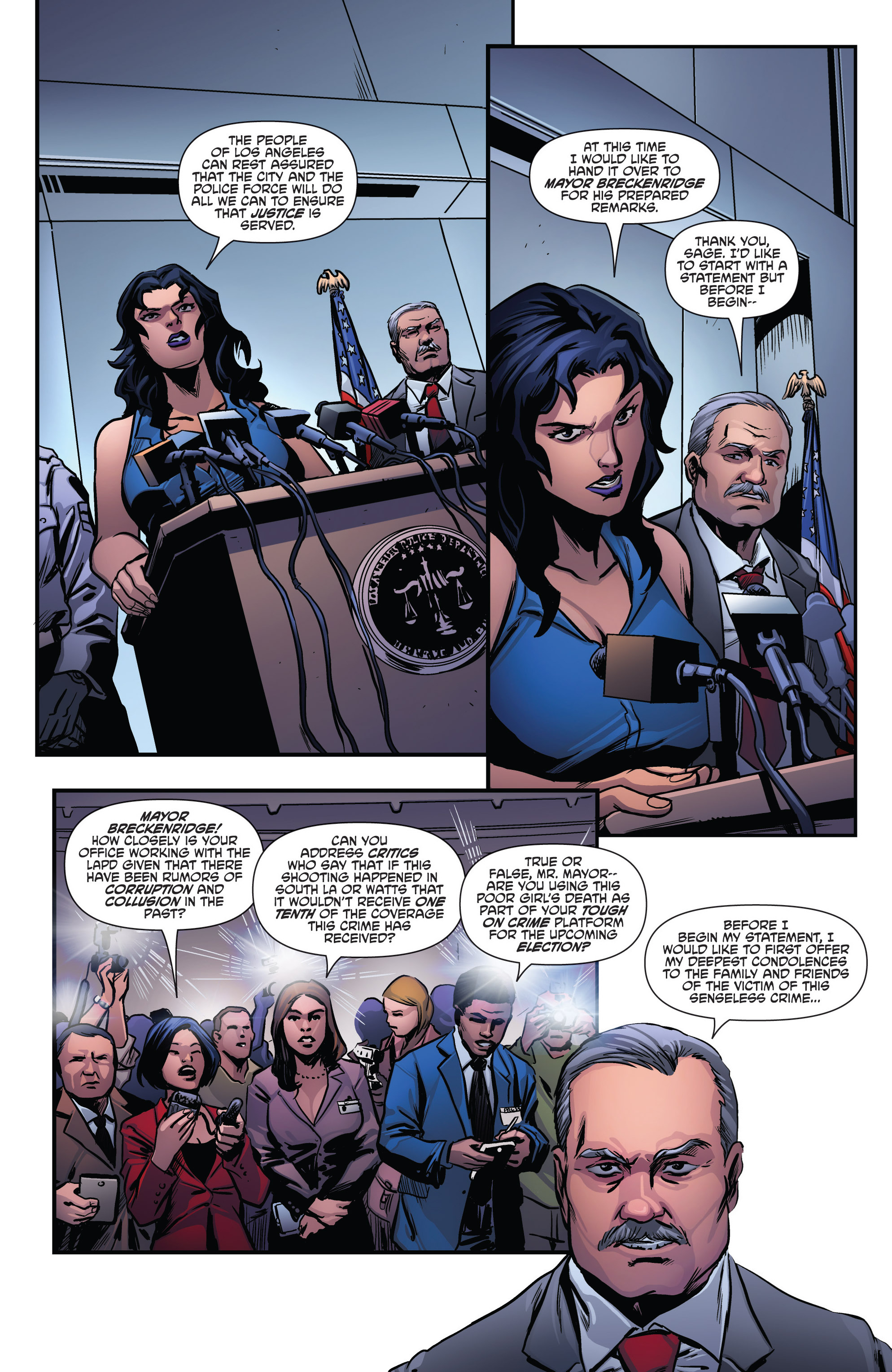 Read online Grimm Fairy Tales presents Goddess Inc. comic -  Issue #4 - 6