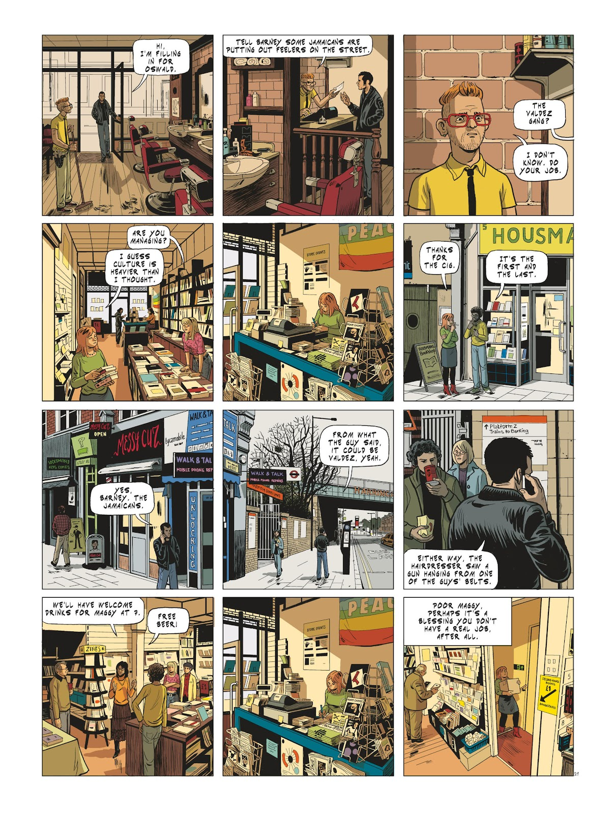 Read online Maggy Garrisson comic -  Issue #3 - 23