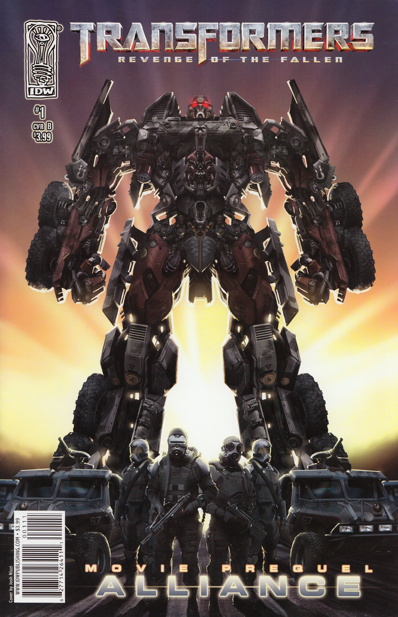Read online Transformers: Alliance comic -  Issue #1 - 1