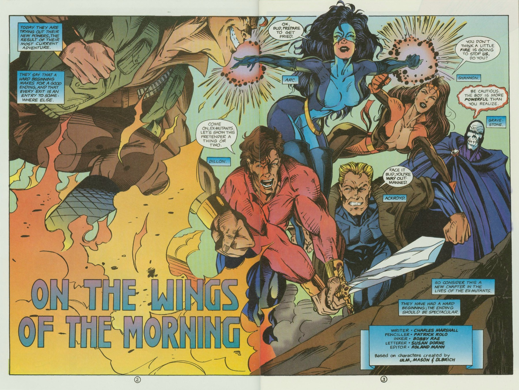 Read online Ex-Mutants comic -  Issue #13 - 4
