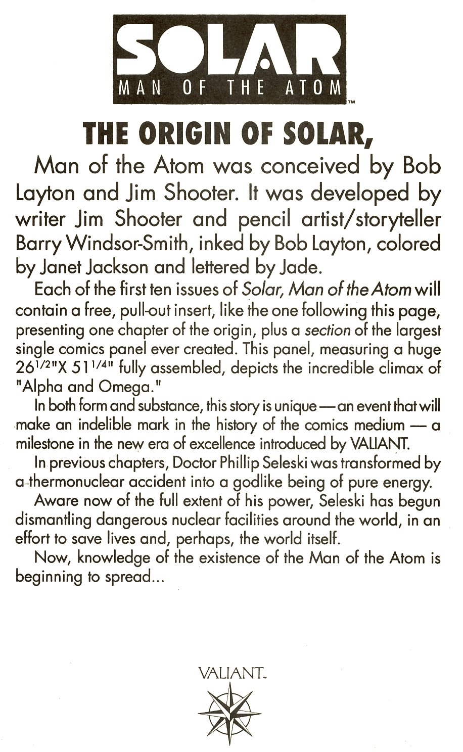 Read online Solar, Man of the Atom comic -  Issue #8 - 18