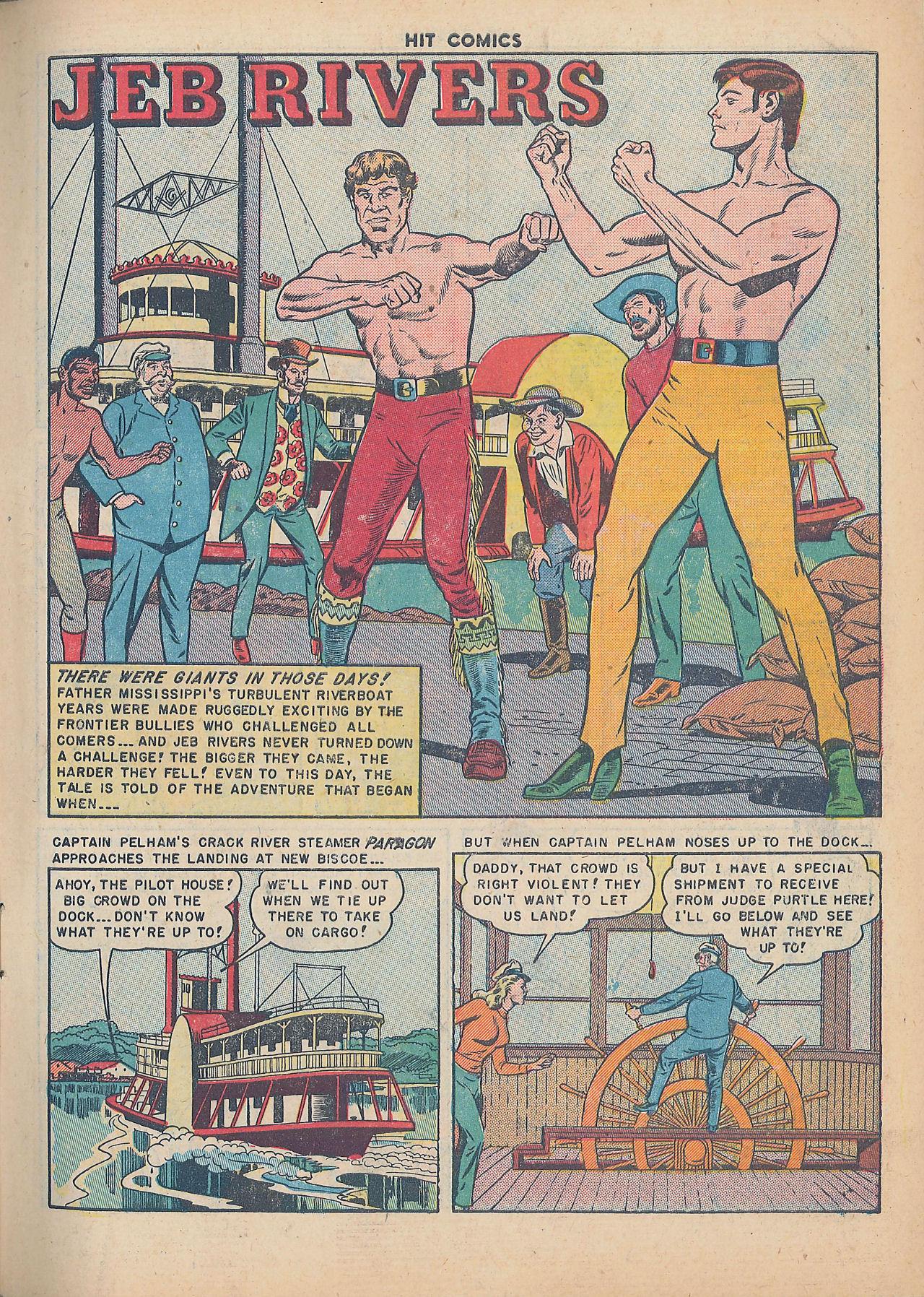 Read online Hit Comics comic -  Issue #64 - 3