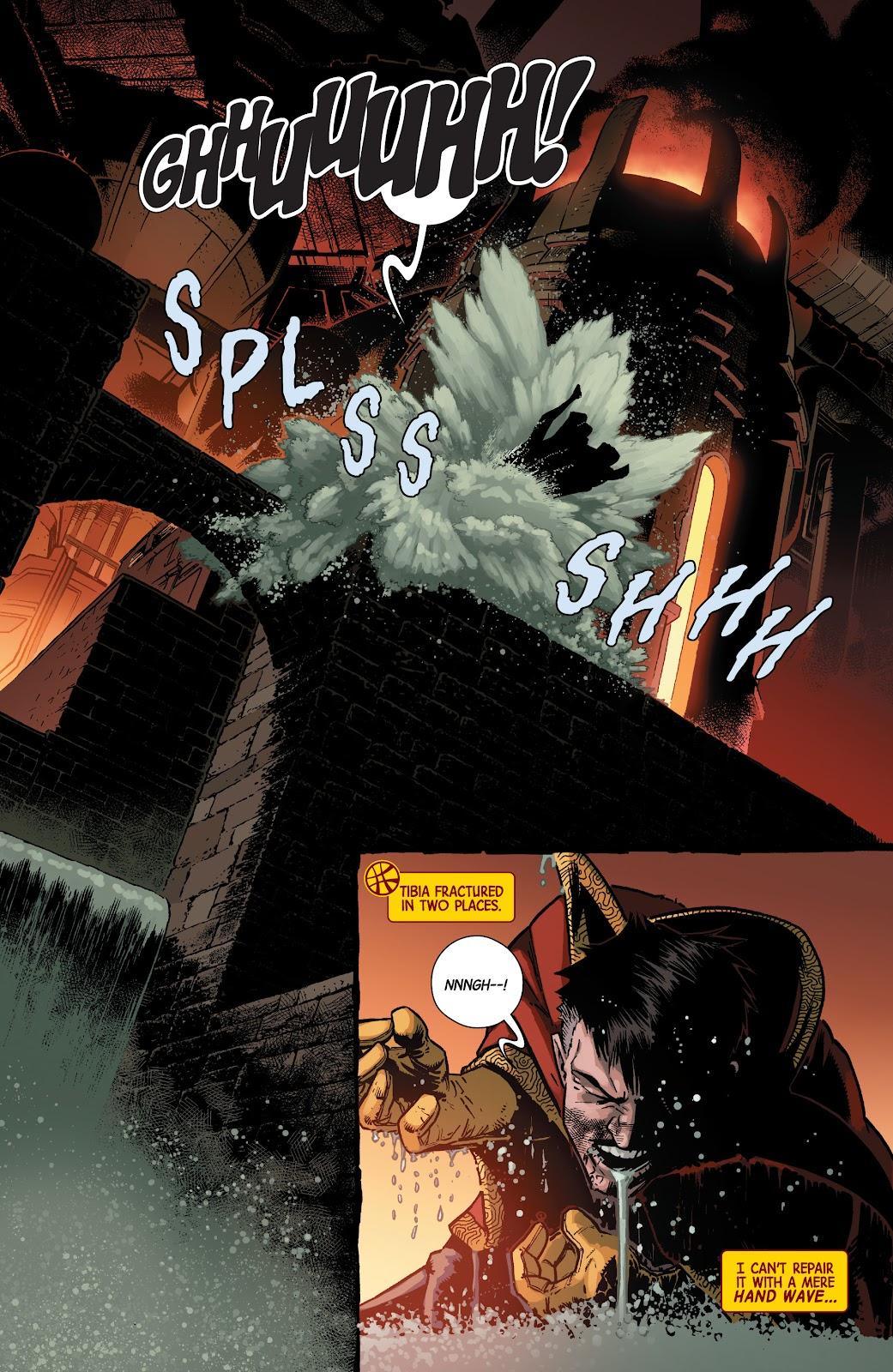 Read online Dr. Strange comic -  Issue #2 - 4