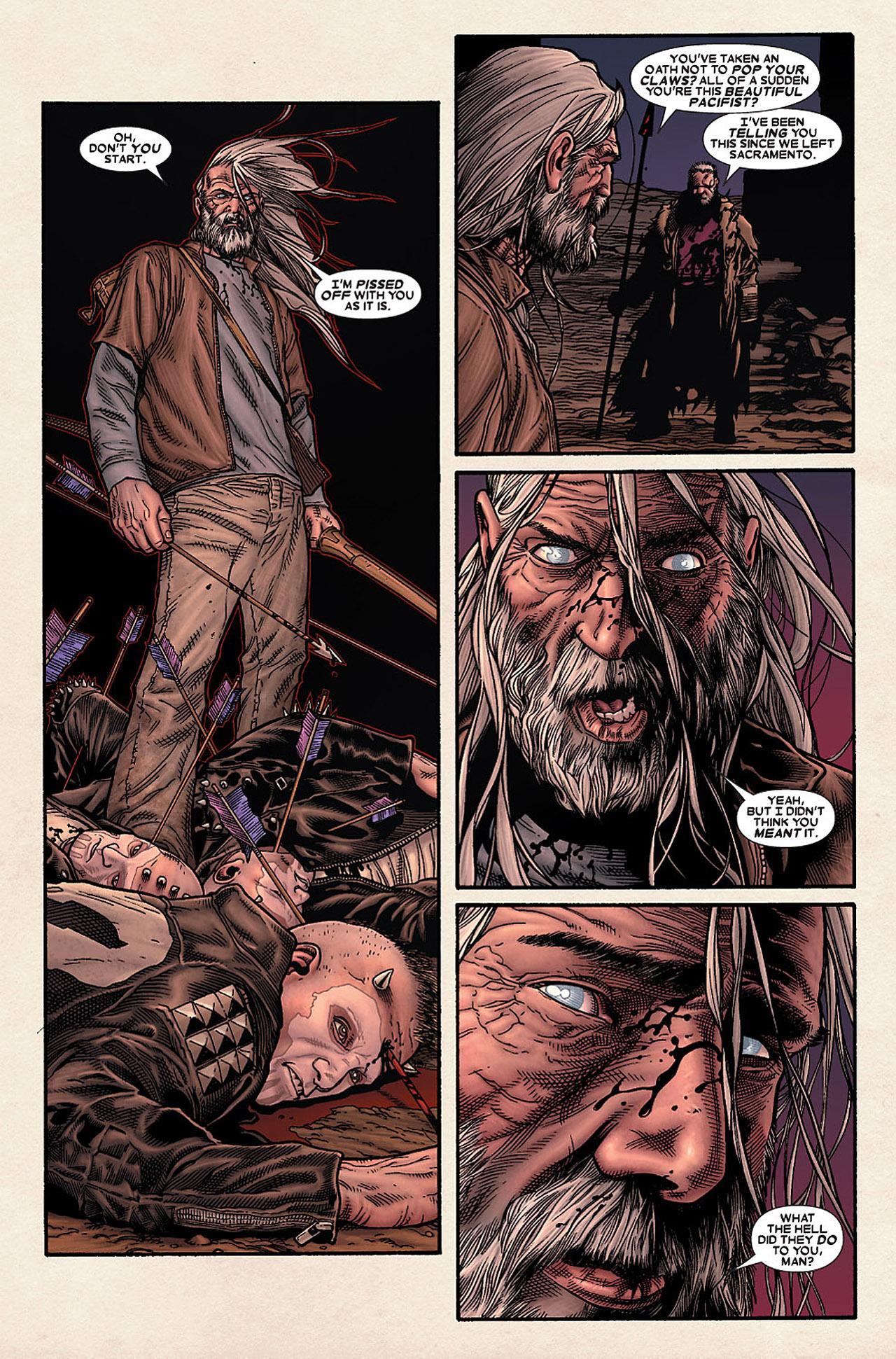 Read online Wolverine: Old Man Logan comic -  Issue # Full - 40