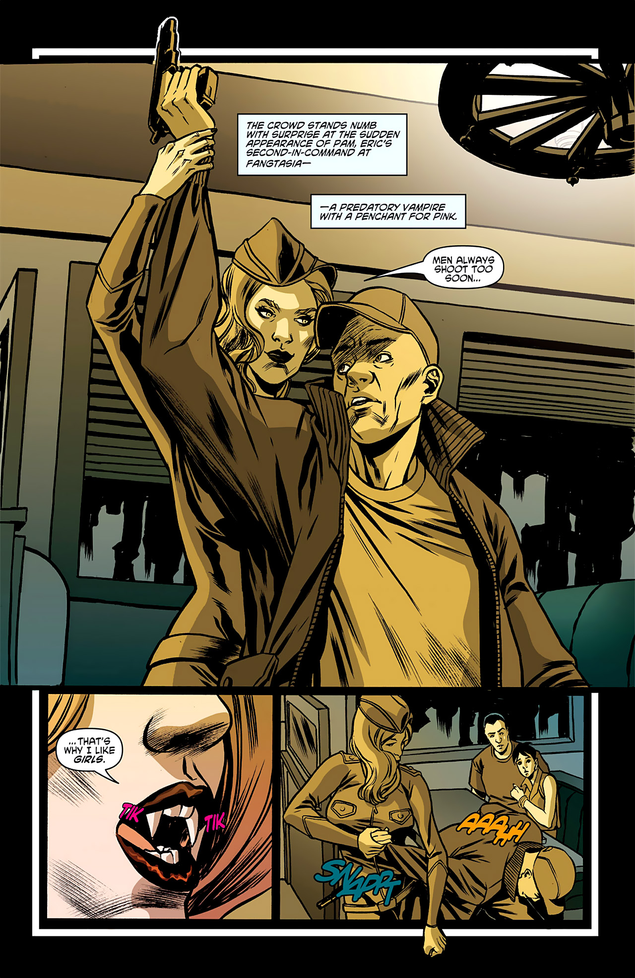 Read online True Blood: French Quarter comic -  Issue #1 - 15